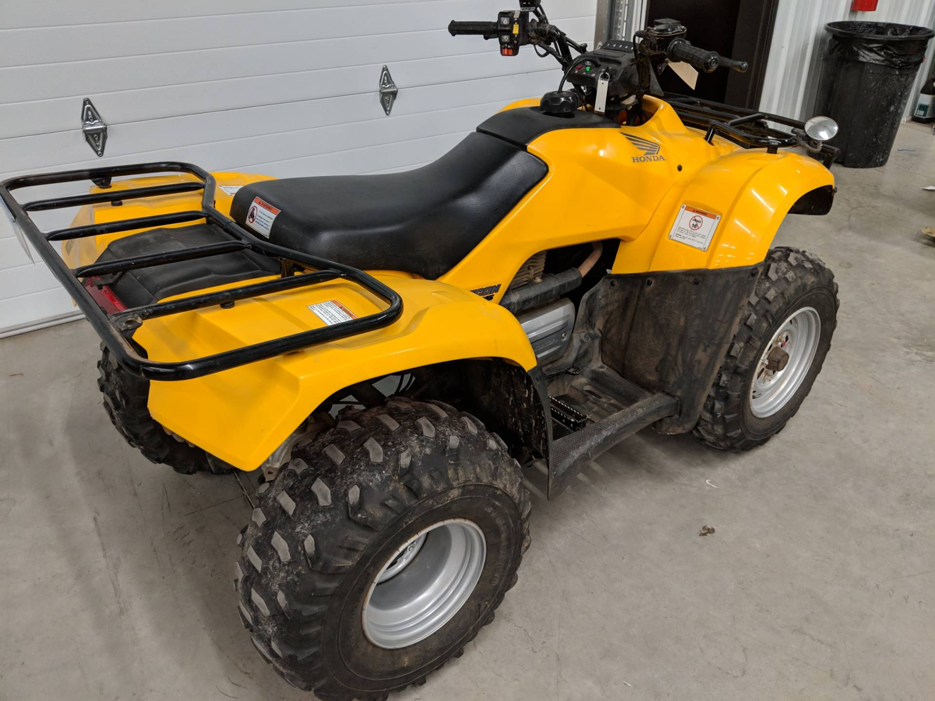 2007 Honda FourTrax Recon ES 7