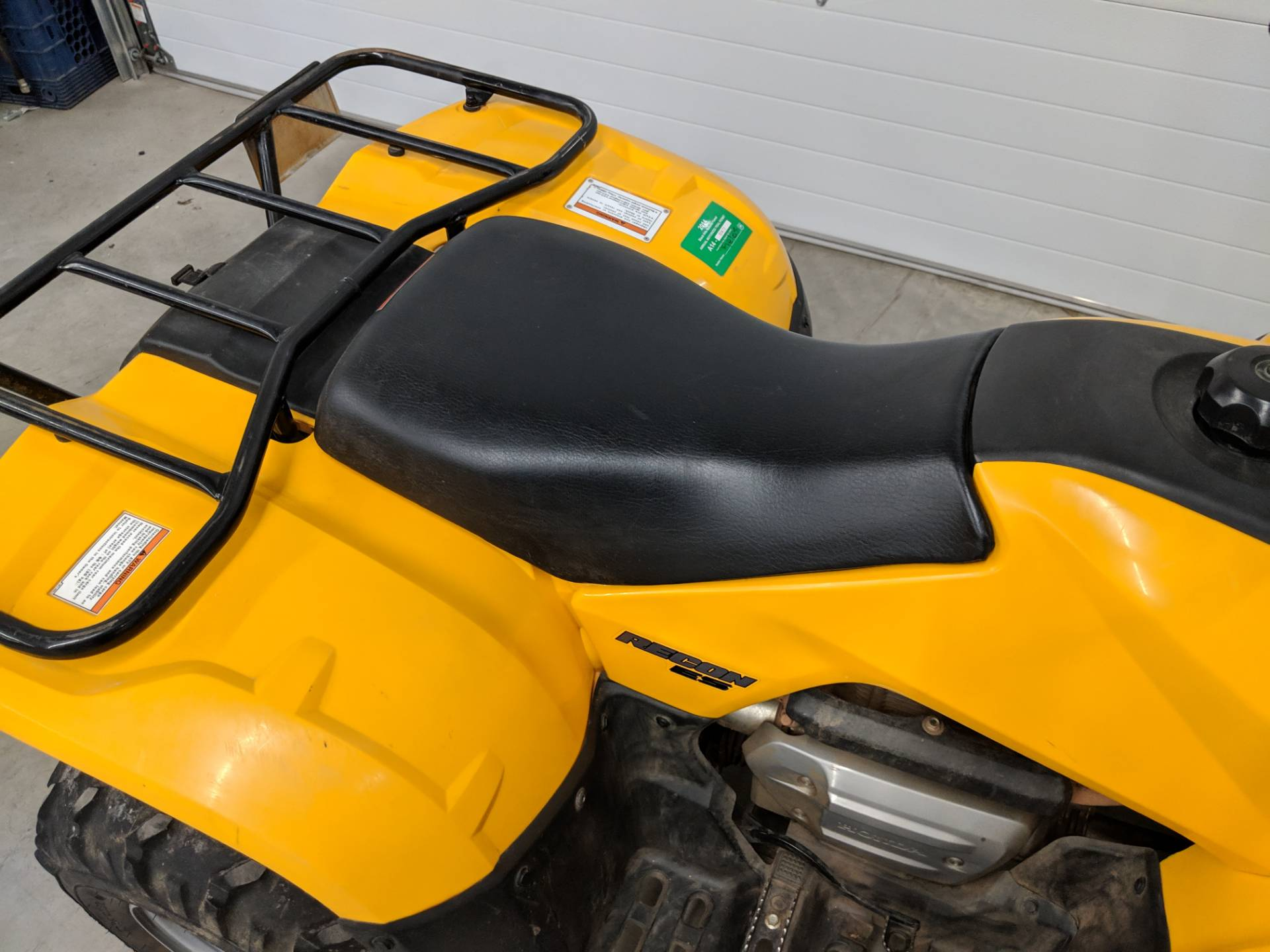 2007 Honda FourTrax Recon ES 10
