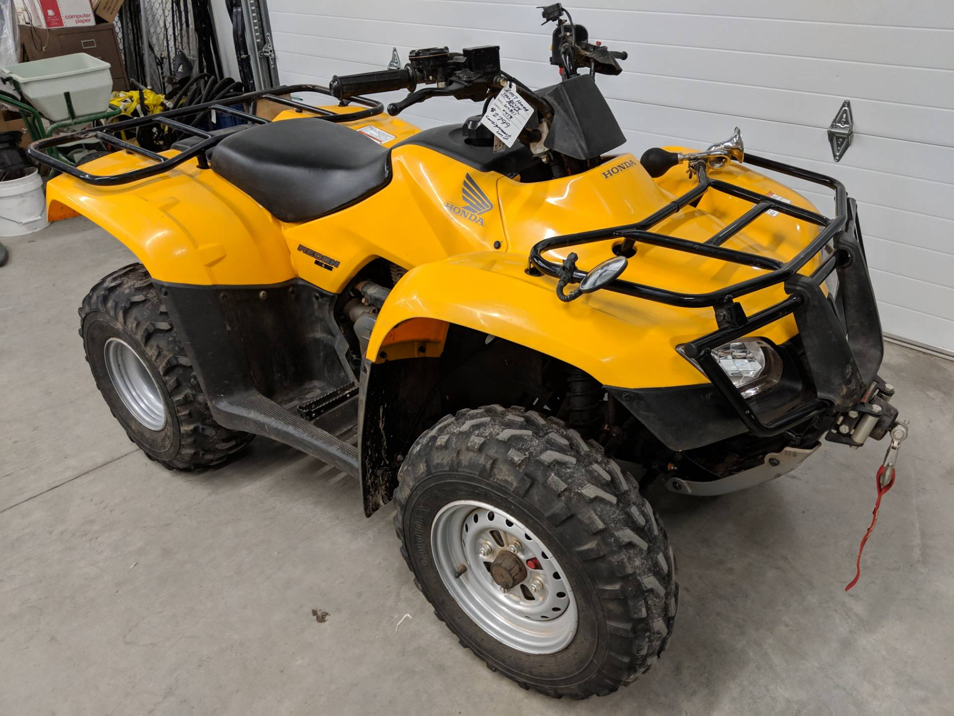 2007 Honda FourTrax Recon ES 5