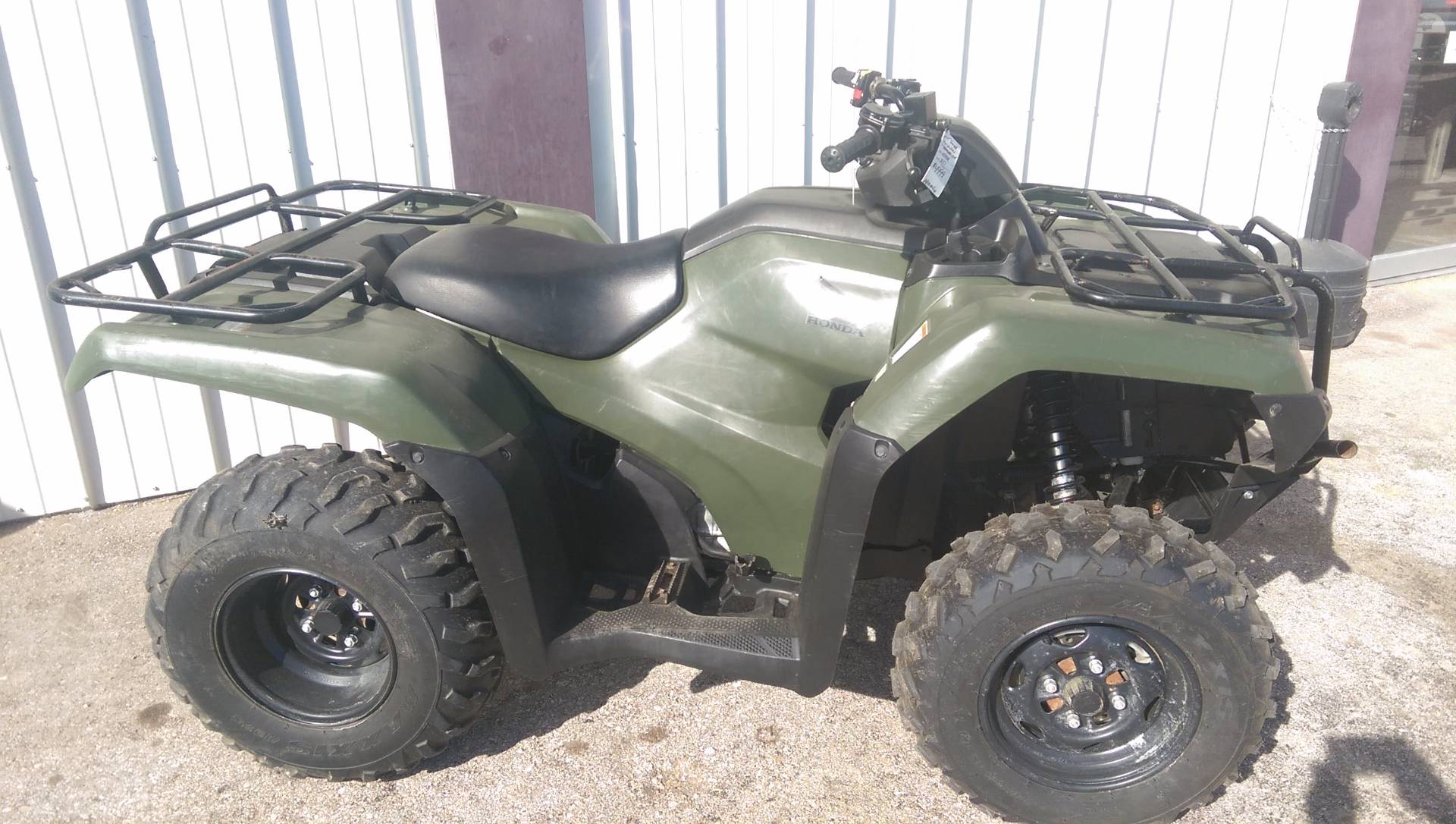 2015 Honda FourTrax® Rancher® 4x4 in Rapid City, South Dakota