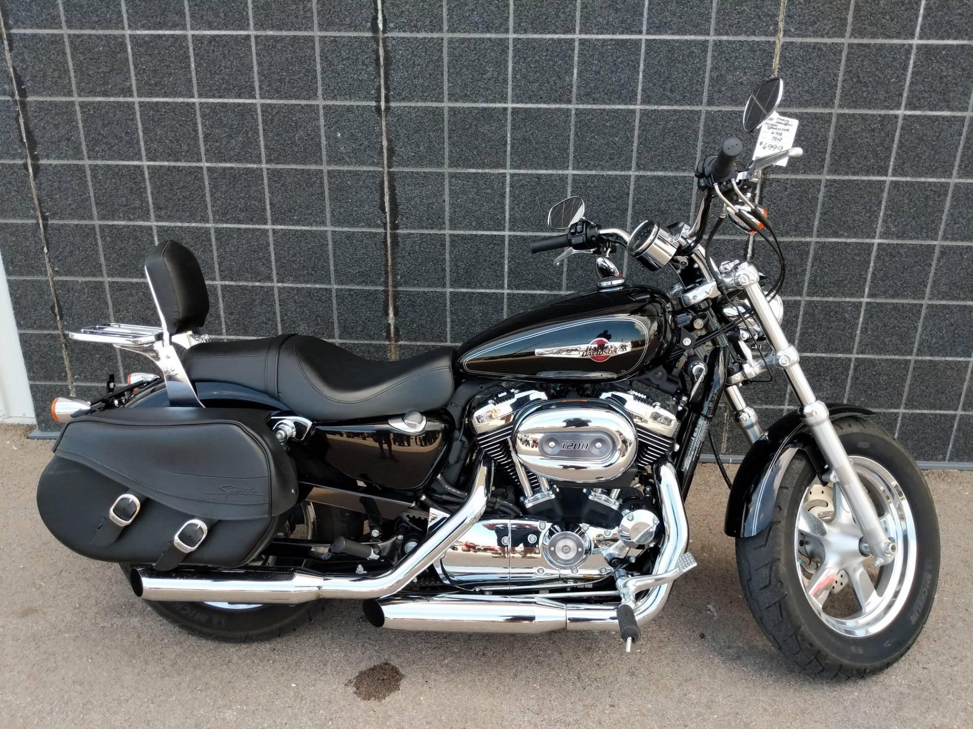 Harley Davidson Sportster 1200 >> Used 2011 Harley Davidson Sportster 1200 Custom Motorcycles In