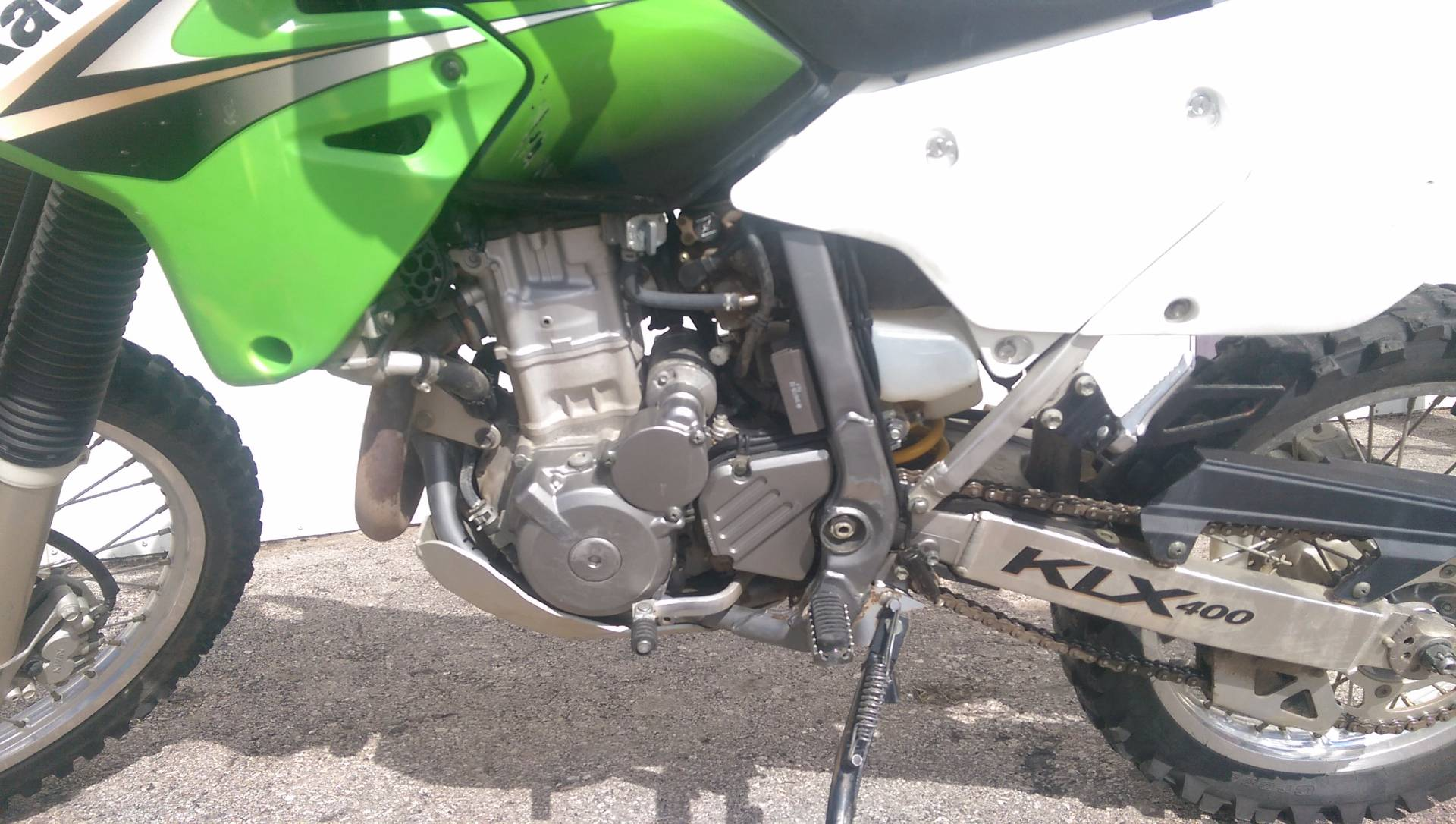 2003 Kawasaki KLX 400R in Rapid City, South Dakota