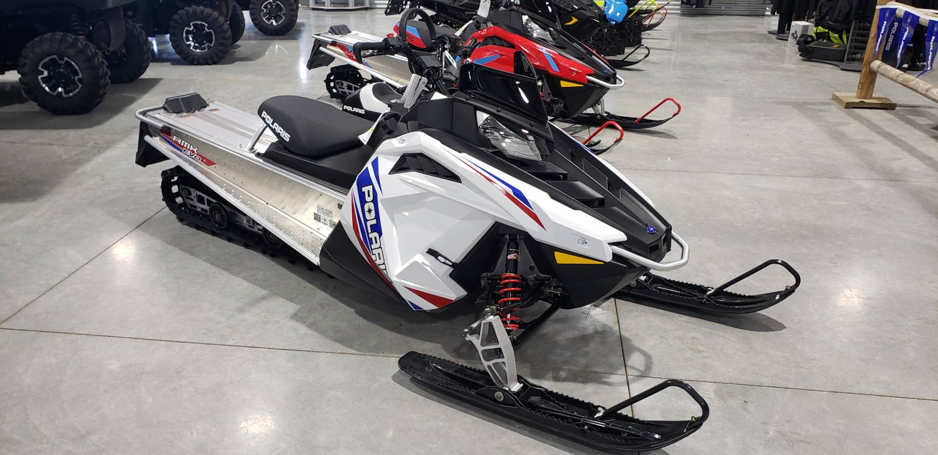 2021 Polaris 550 RMK EVO 144 ES in Rapid City, South Dakota - Photo 1