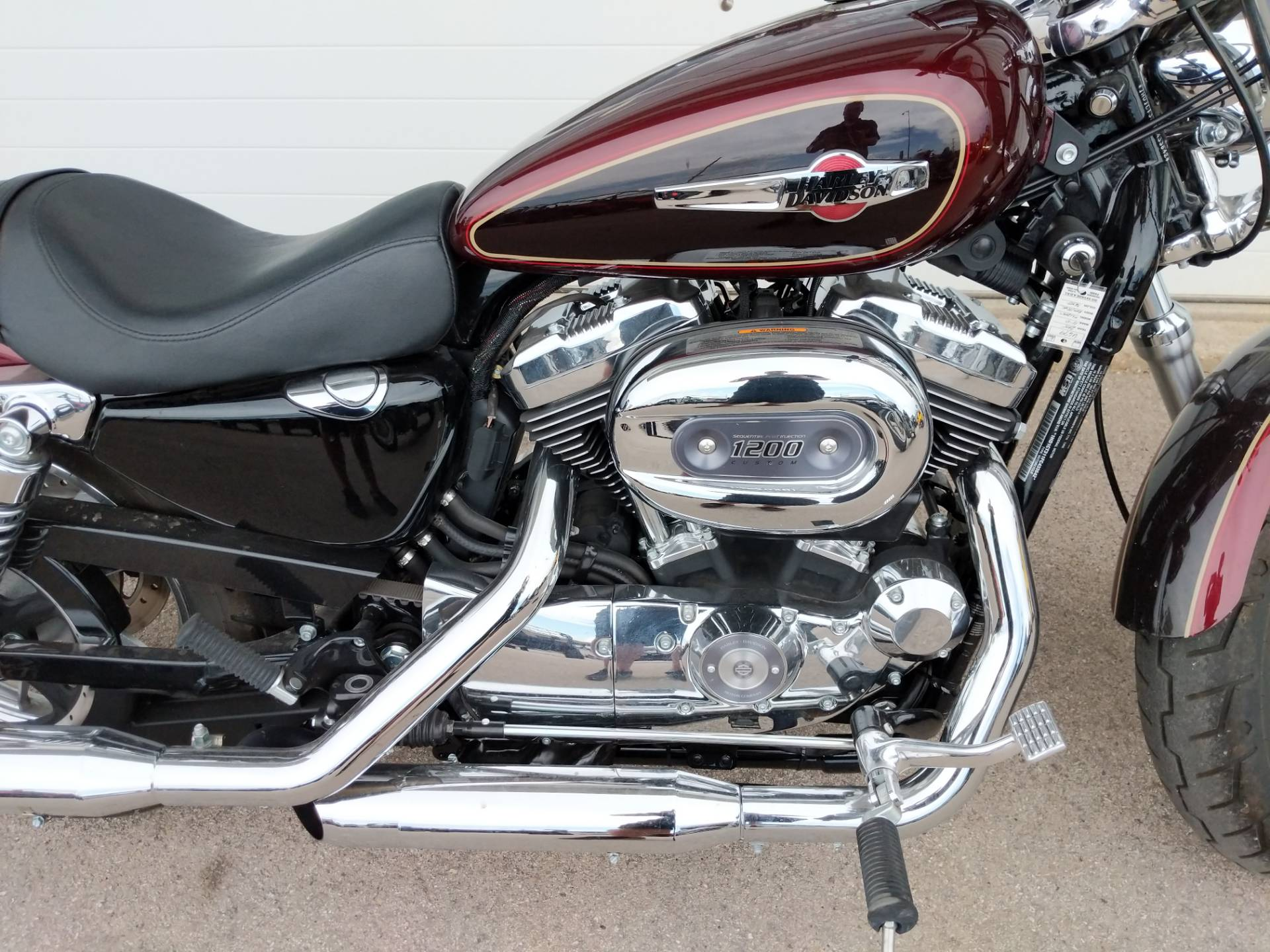 2015 Harley-Davidson 1200 Custom in Rapid City, South Dakota