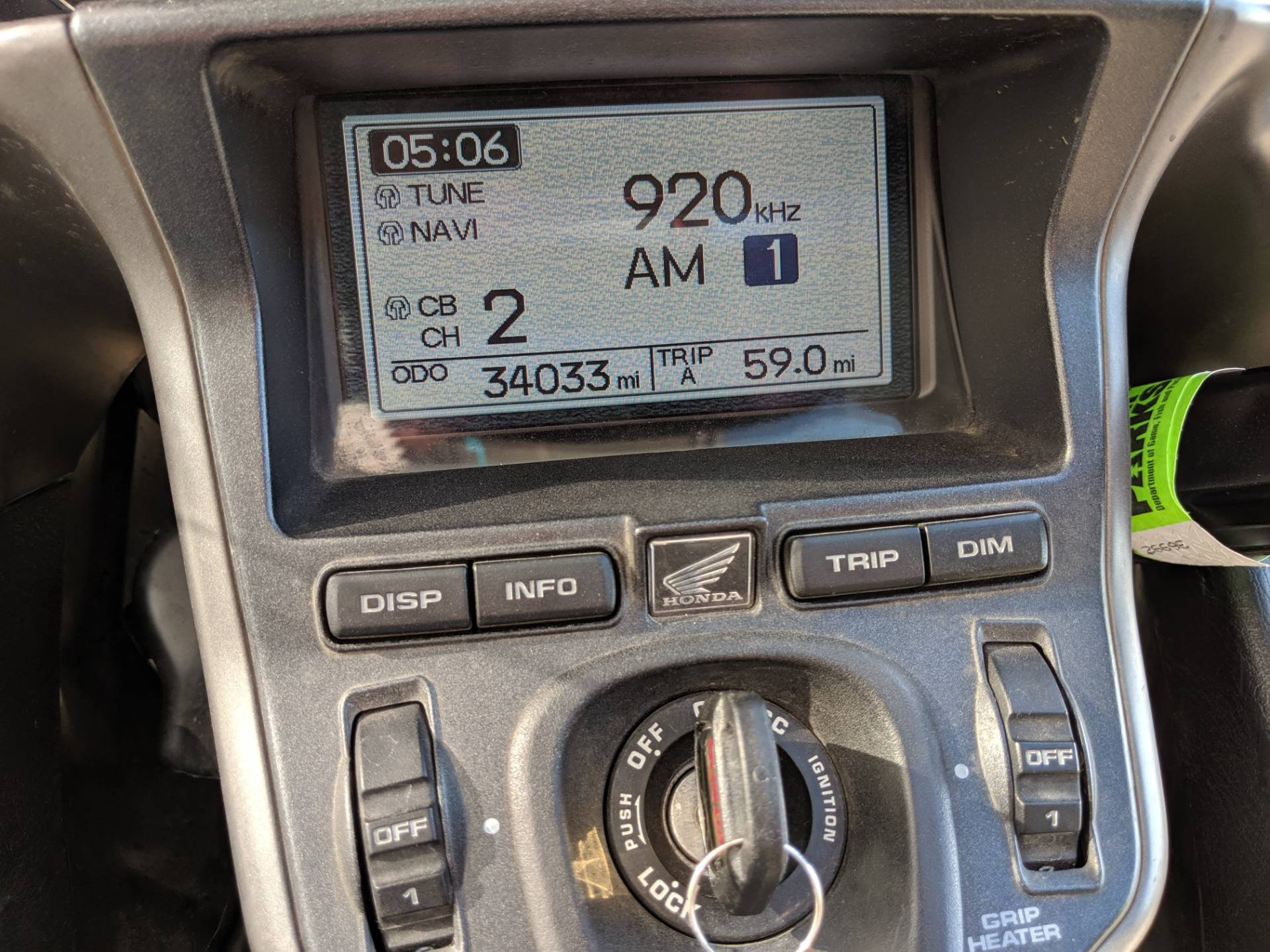 2008 Honda Gold Wing® Audio Comfort Navi in Rapid City, South Dakota