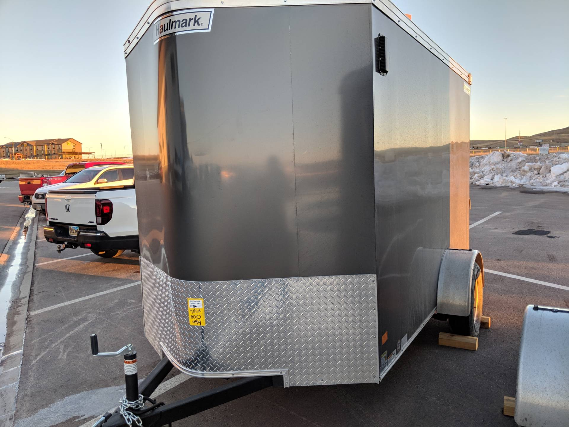 2019 Haulmark TSV610S2 Transport V-Nose 6x10 in Rapid City, South Dakota - Photo 3