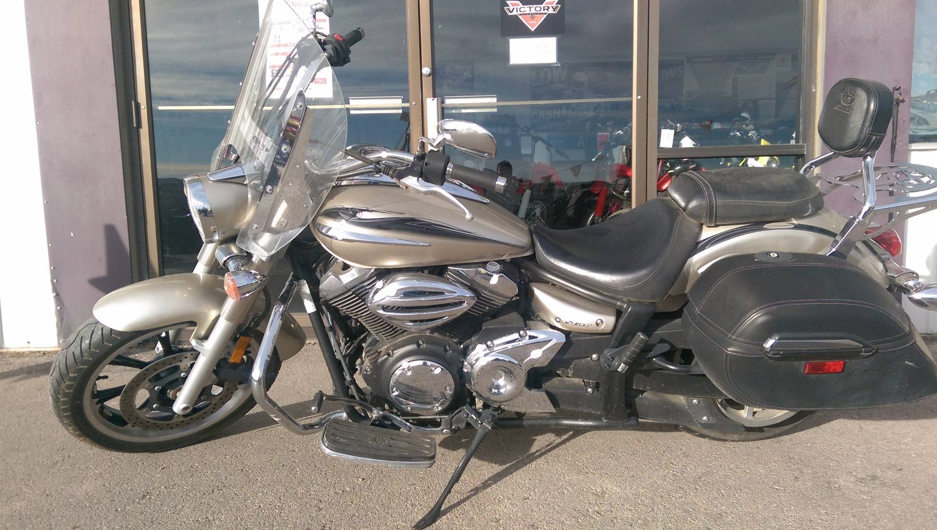 2010 Yamaha V Star 950 Tourer in Rapid City, South Dakota