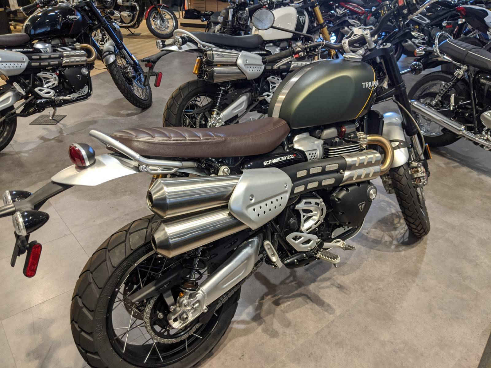 2019 Triumph Scrambler 1200 XC in Rapid City, South Dakota - Photo 5