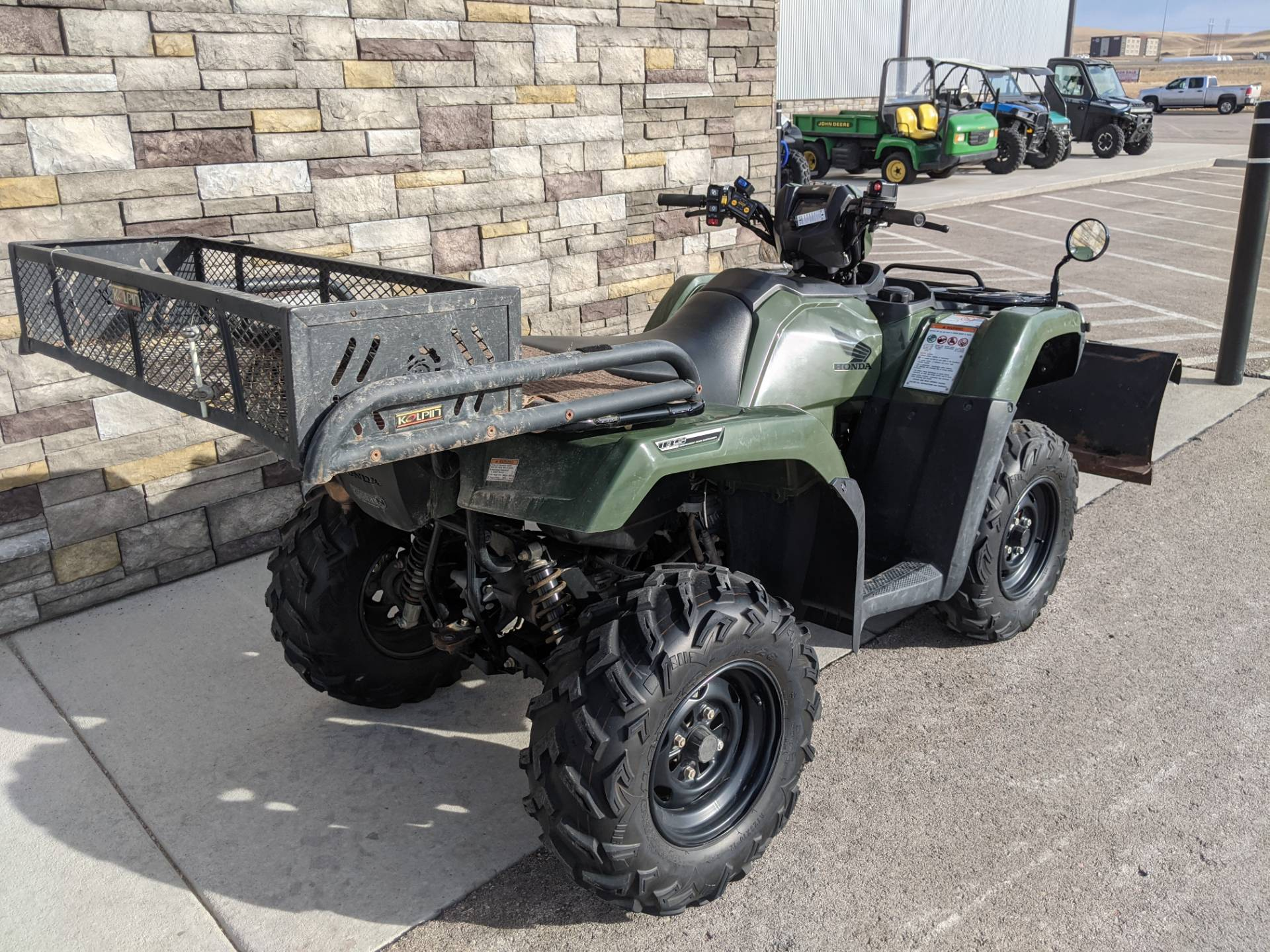 2018 Honda FourTrax Foreman Rubicon 4x4 Automatic DCT EPS in Rapid City, South Dakota - Photo 6