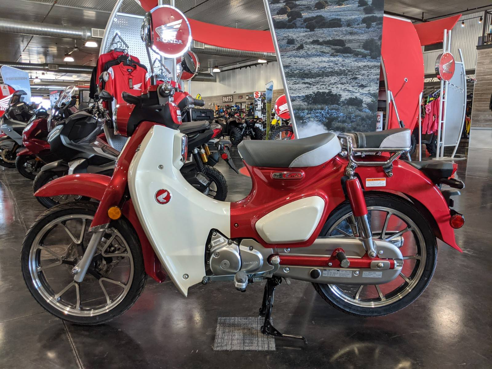 2021 Honda Super Cub C125 ABS in Rapid City, South Dakota - Photo 1