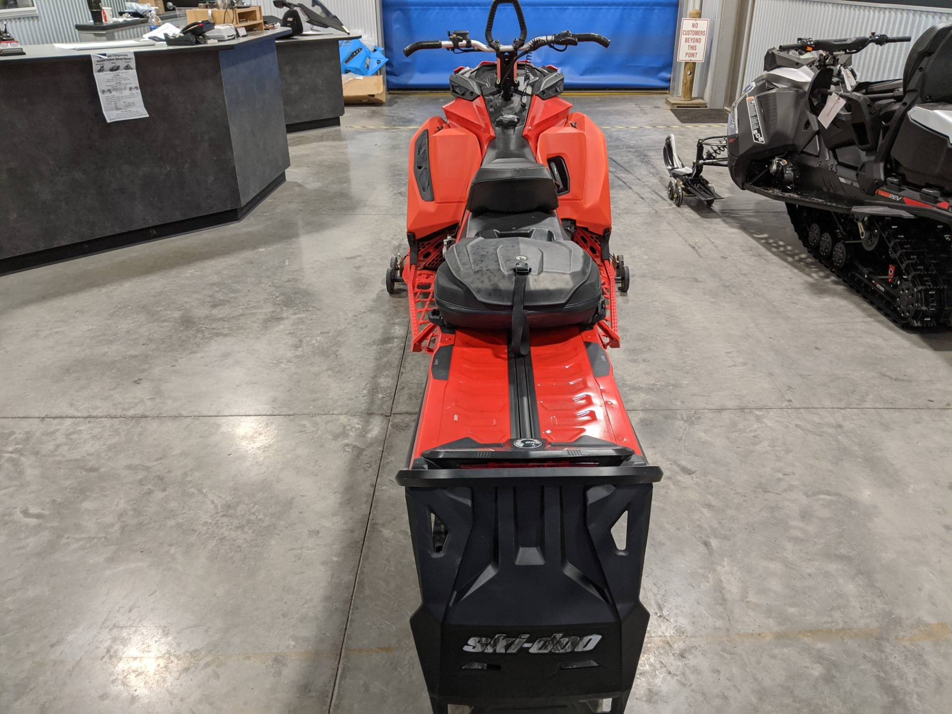 2019 Ski-Doo Summit X 165 850 E-TEC PowderMax Light 3.0 w/ FlexEdge SL in Rapid City, South Dakota - Photo 5