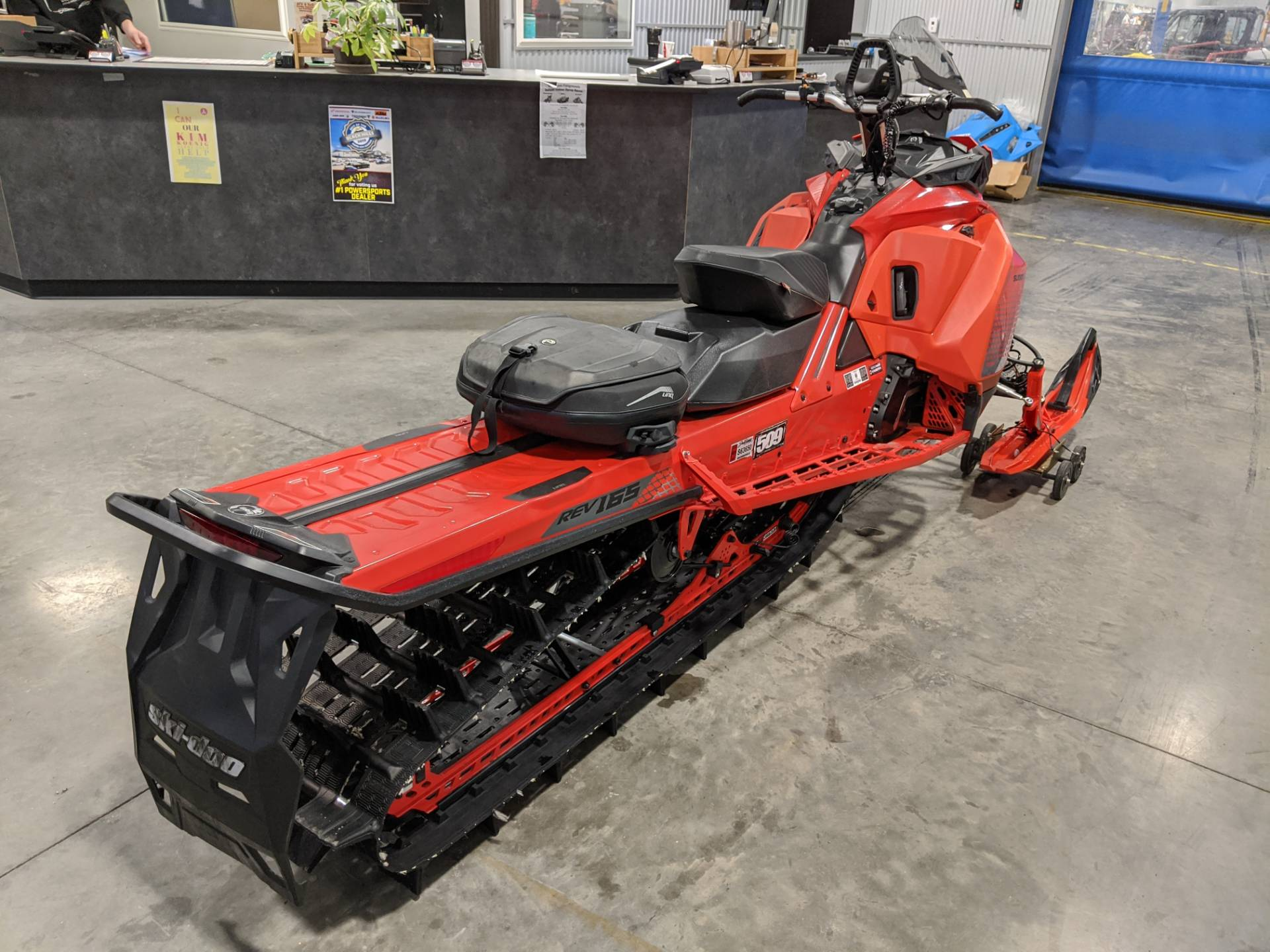 2019 Ski-Doo Summit X 165 850 E-TEC PowderMax Light 3.0 w/ FlexEdge SL in Rapid City, South Dakota - Photo 7