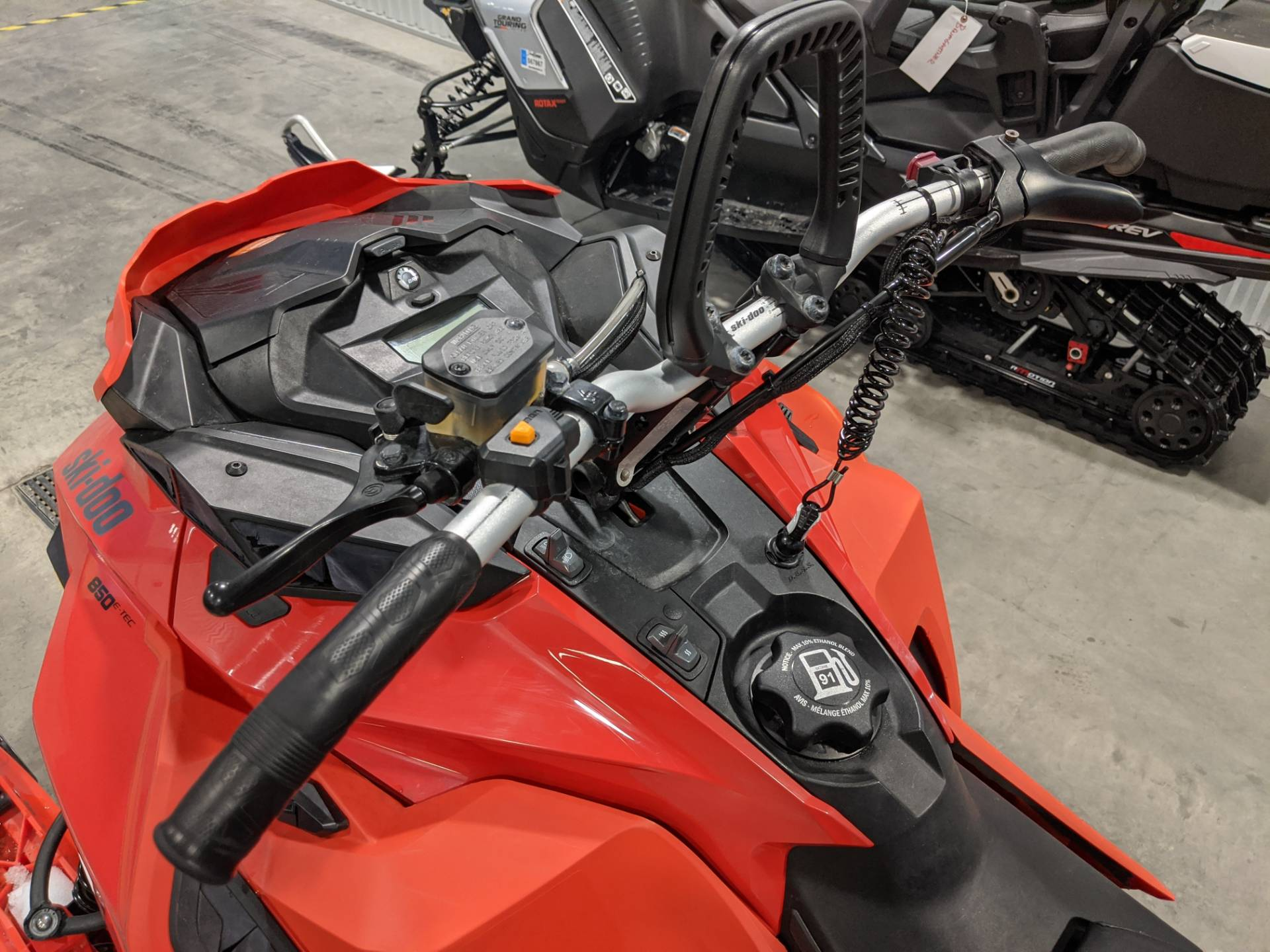 2019 Ski-Doo Summit X 165 850 E-TEC PowderMax Light 3.0 w/ FlexEdge SL in Rapid City, South Dakota - Photo 13