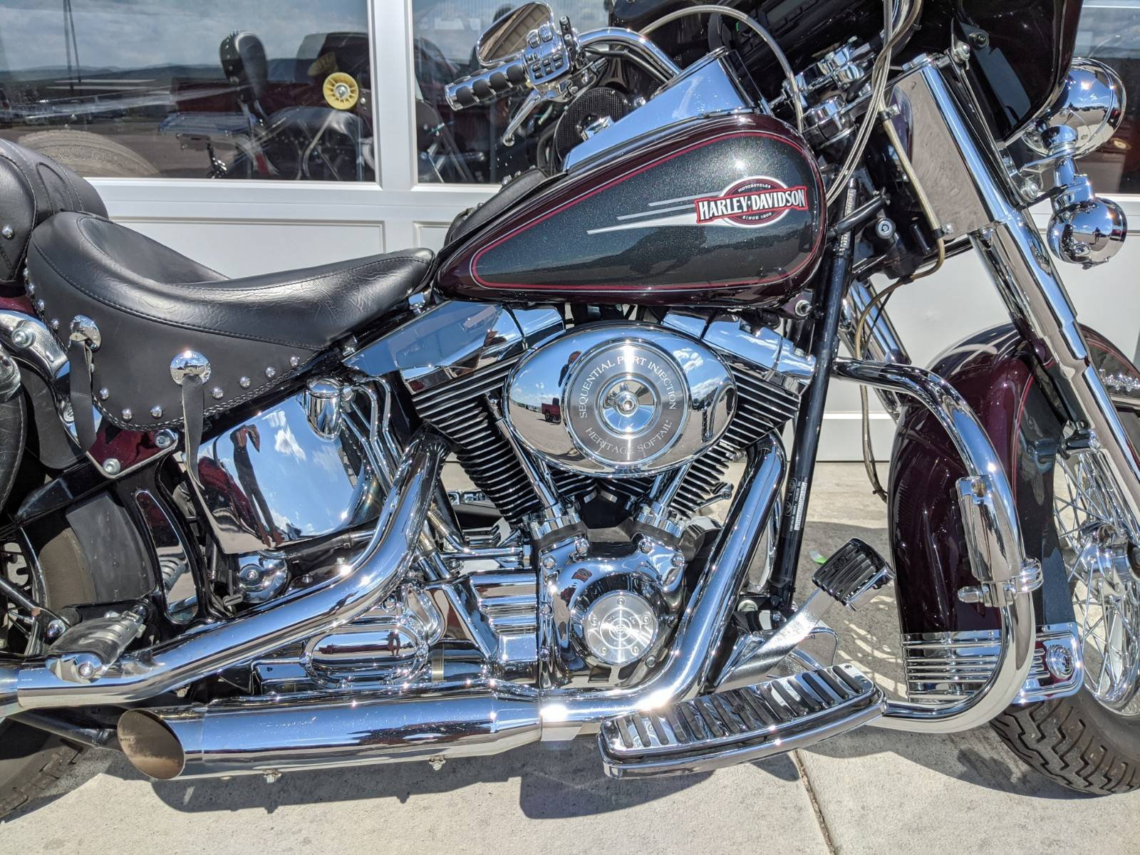 2005 Harley-Davidson FLSTC/FLSTCI Heritage Softail® Classic in Rapid City, South Dakota - Photo 5