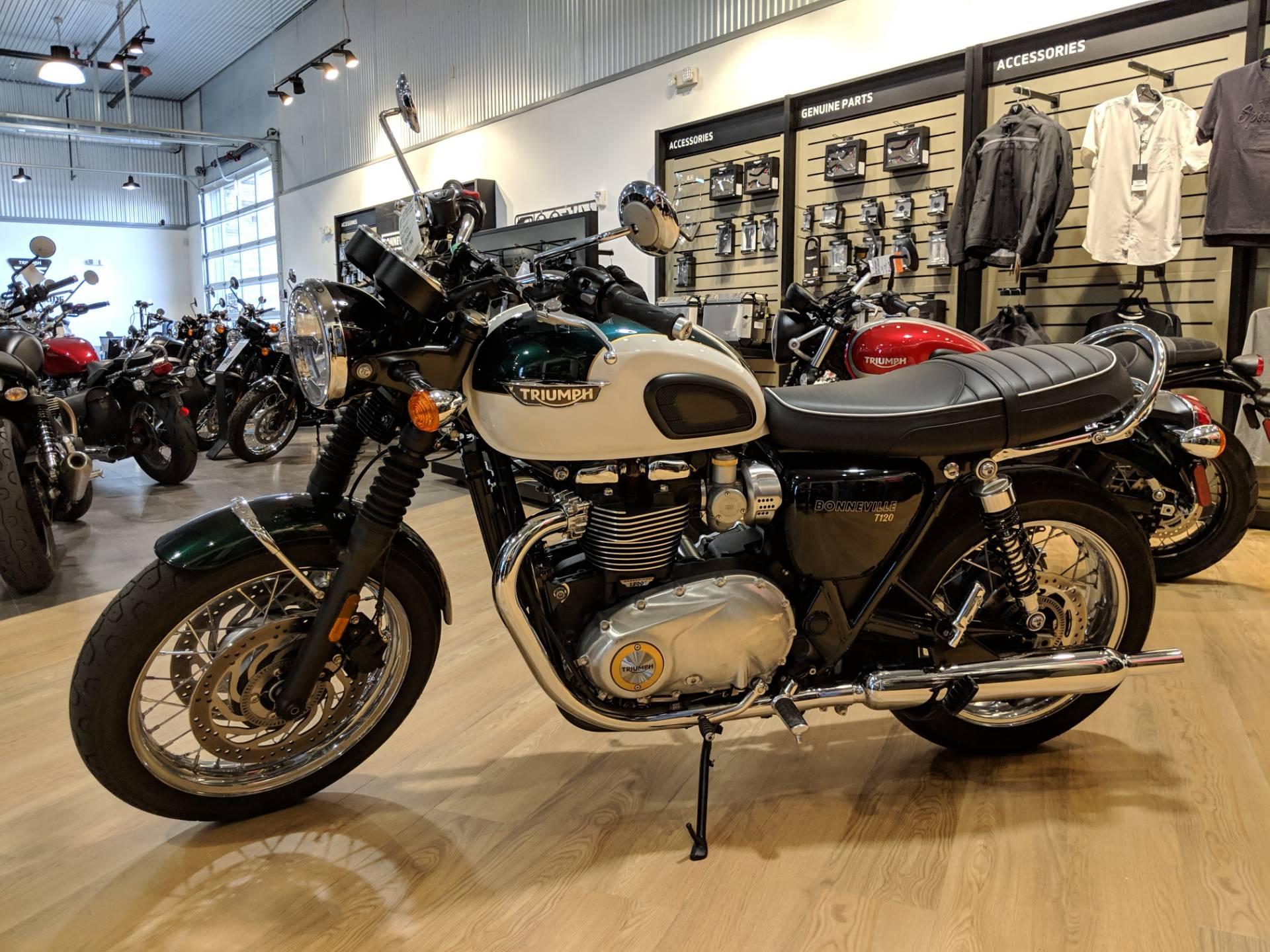 2018 Triumph Bonneville T120 Motorcycles Rapid City South Dakota