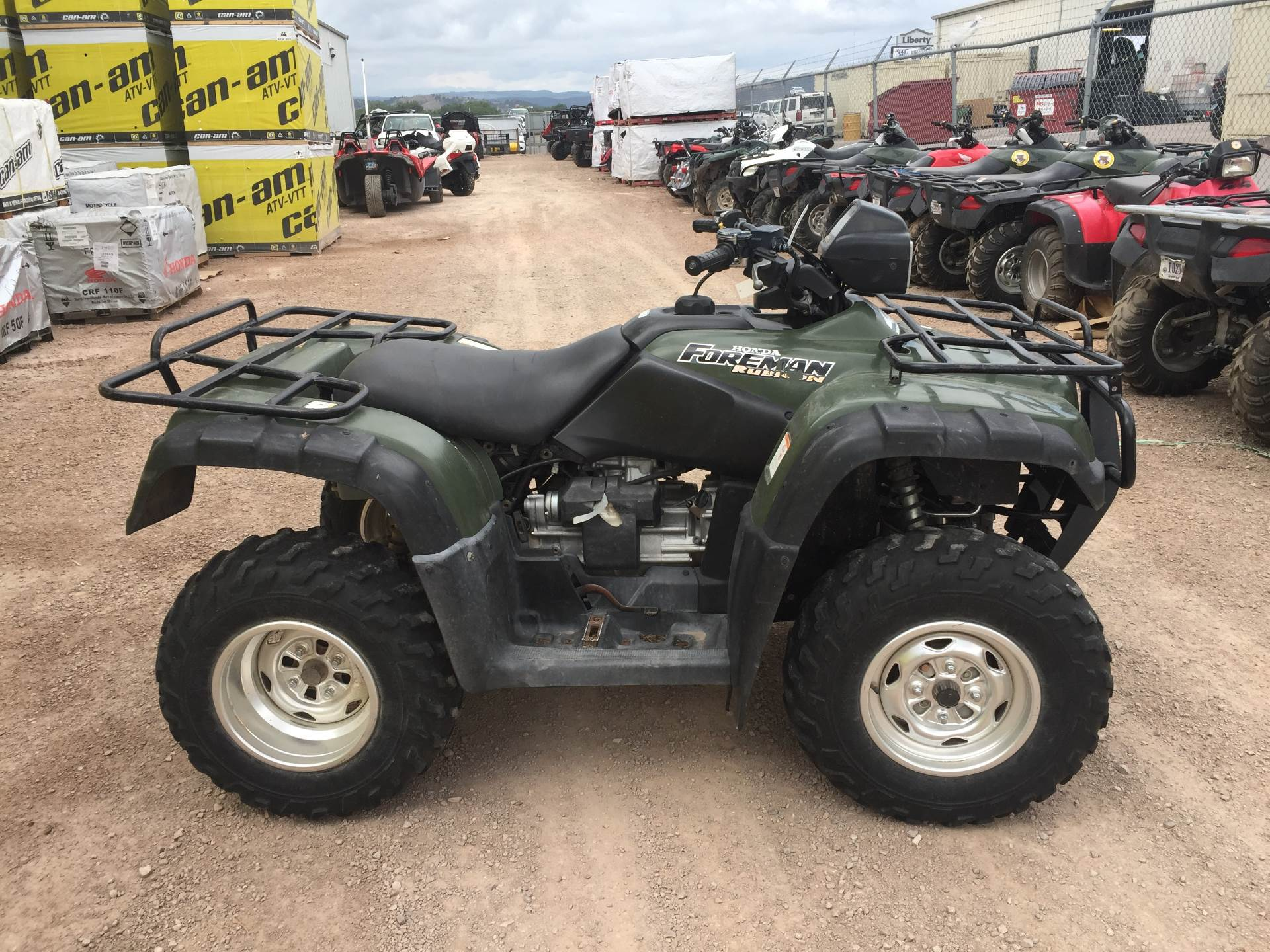 2004 honda fourtrax foreman rubicon gpscape for sale rapid. Black Bedroom Furniture Sets. Home Design Ideas