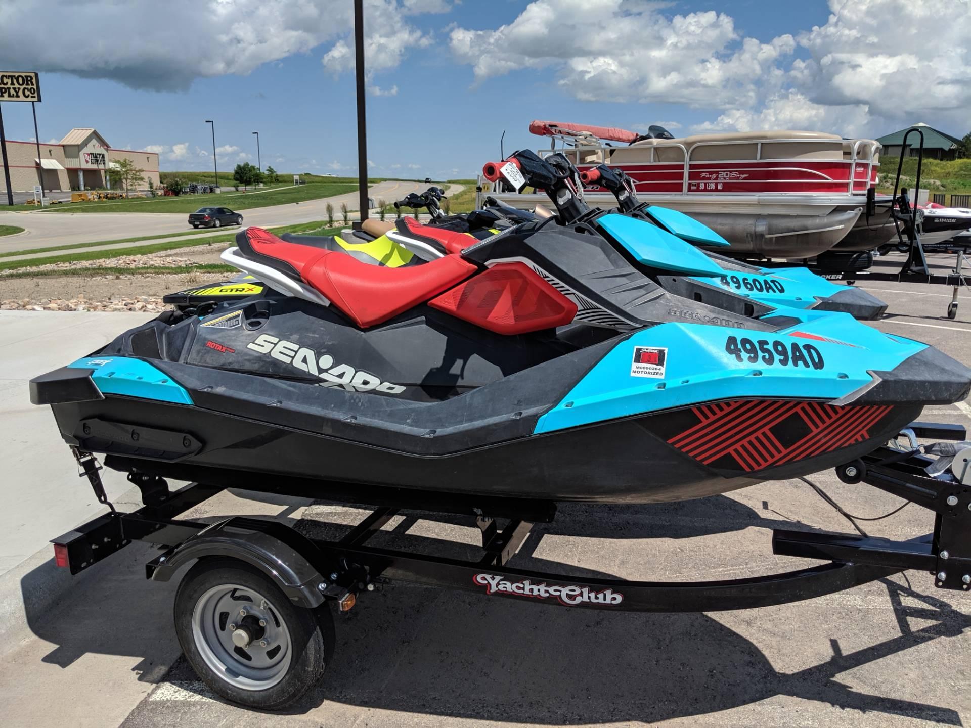 2017 Sea-Doo Spark 2up Trixx iBR for sale 153351