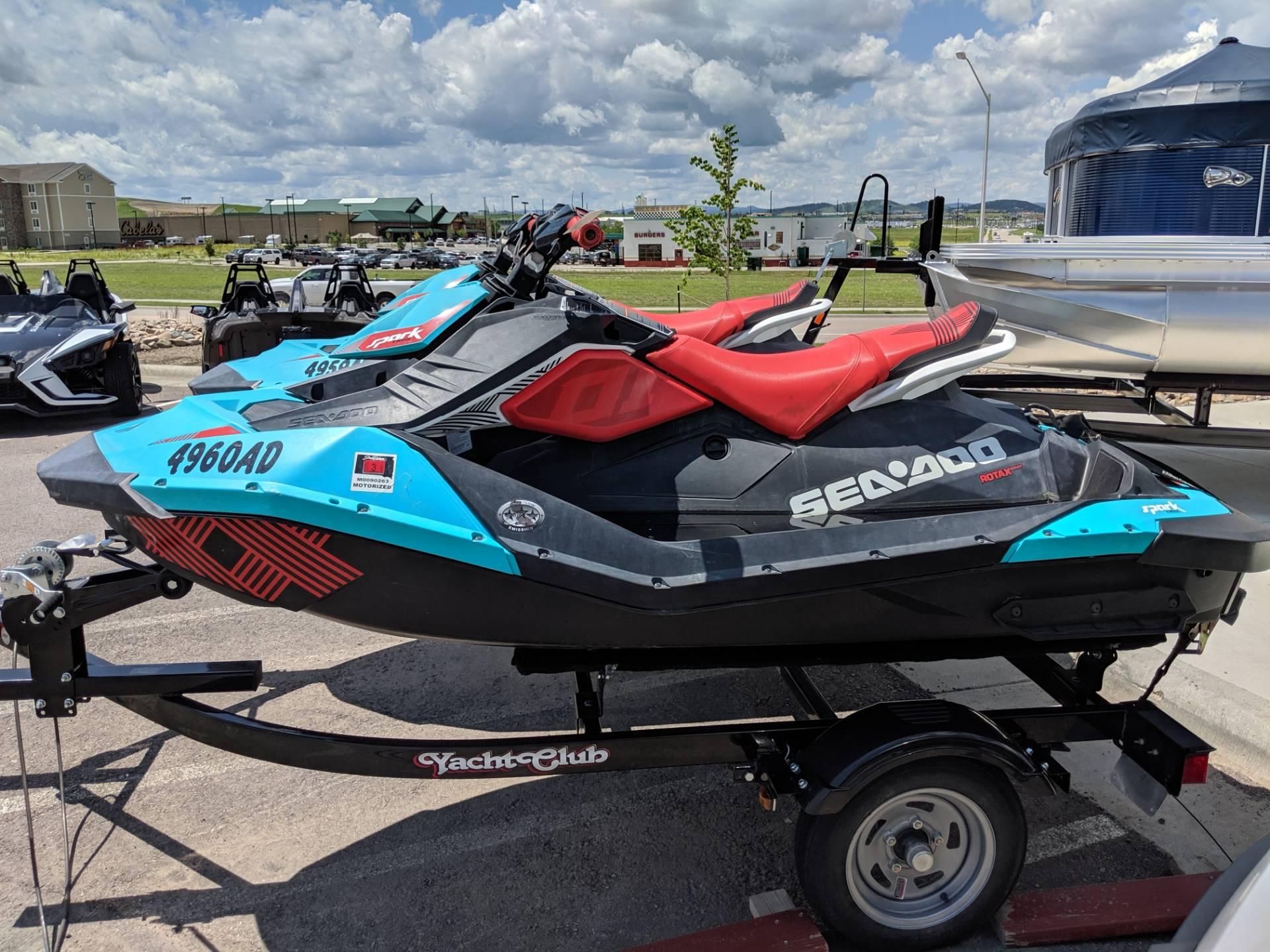2017 Sea-Doo Spark 2up Trixx iBR for sale 153356