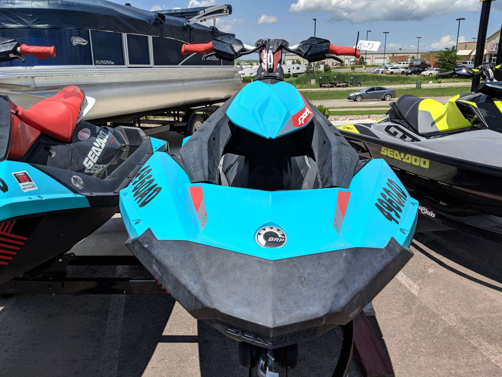 2017 Sea-Doo Spark 2up Trixx iBR in Rapid City, South Dakota