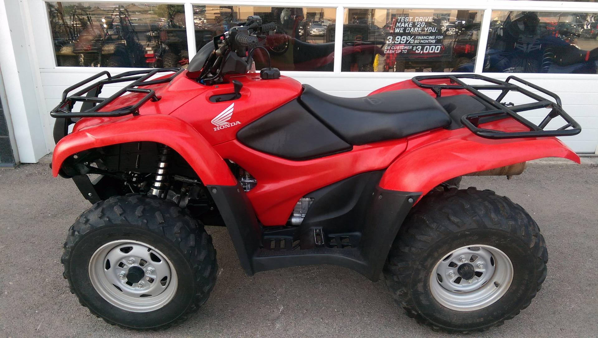 2013 Honda FourTrax® Rancher® AT with EPS in Rapid City, South Dakota