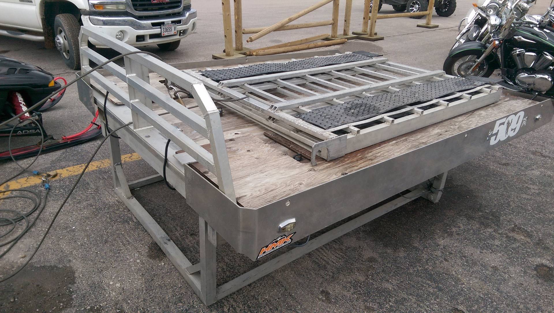 2011 Marathon Top Cat Aluminum Sled Deck in Rapid City, South Dakota