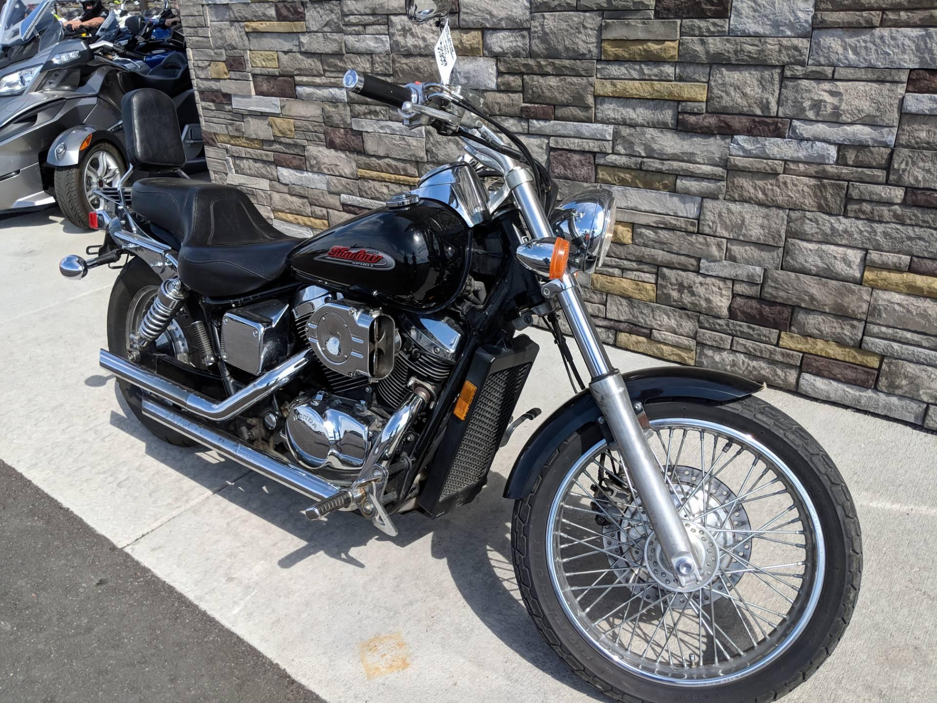 2001 Honda Shadow Spirit 750 7