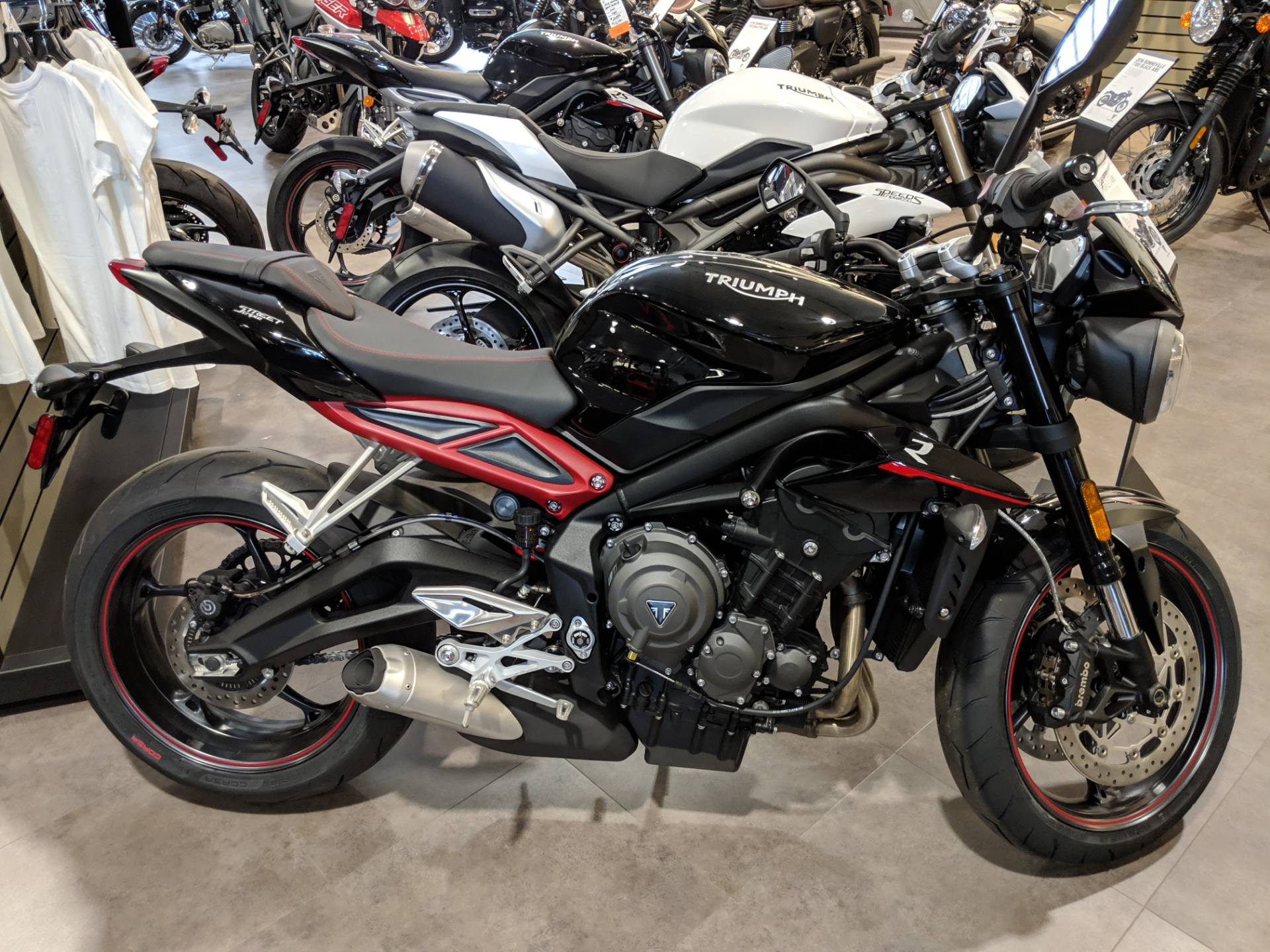 New 2018 Triumph Street Triple R Lrh Motorcycles In Rapid City Sd
