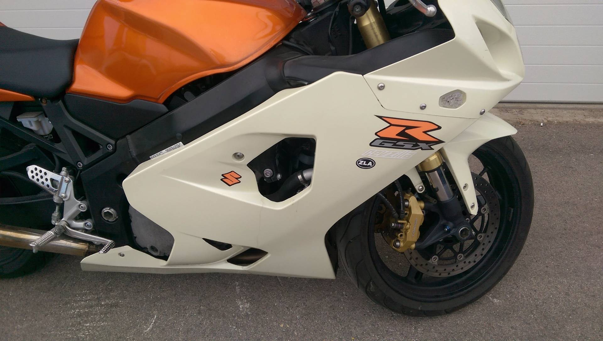 2005 Suzuki GSX-R600 in Rapid City, South Dakota