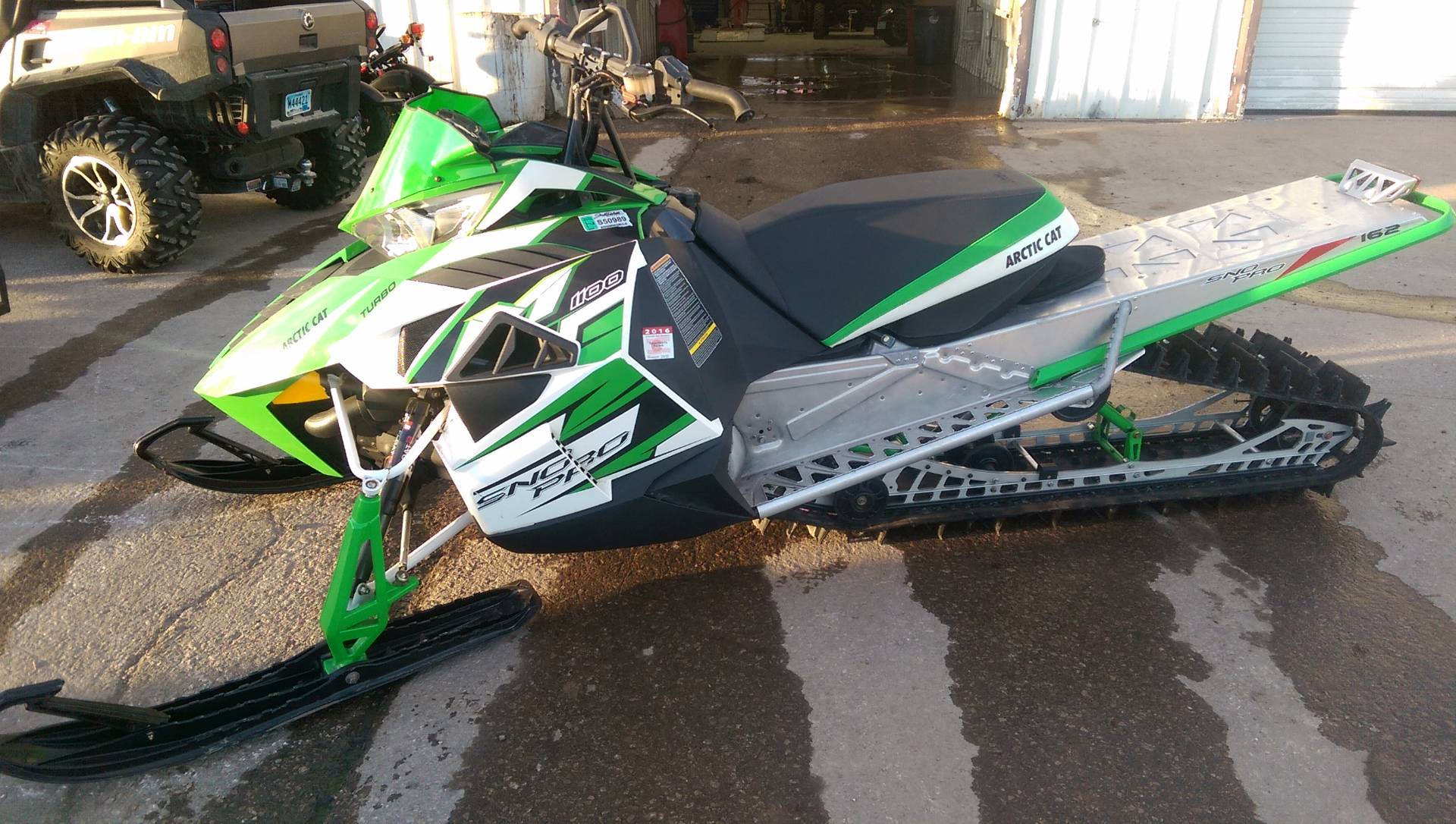 "2013 Arctic Cat M 1100 Turbo HCR 162"" in Rapid City, South Dakota"