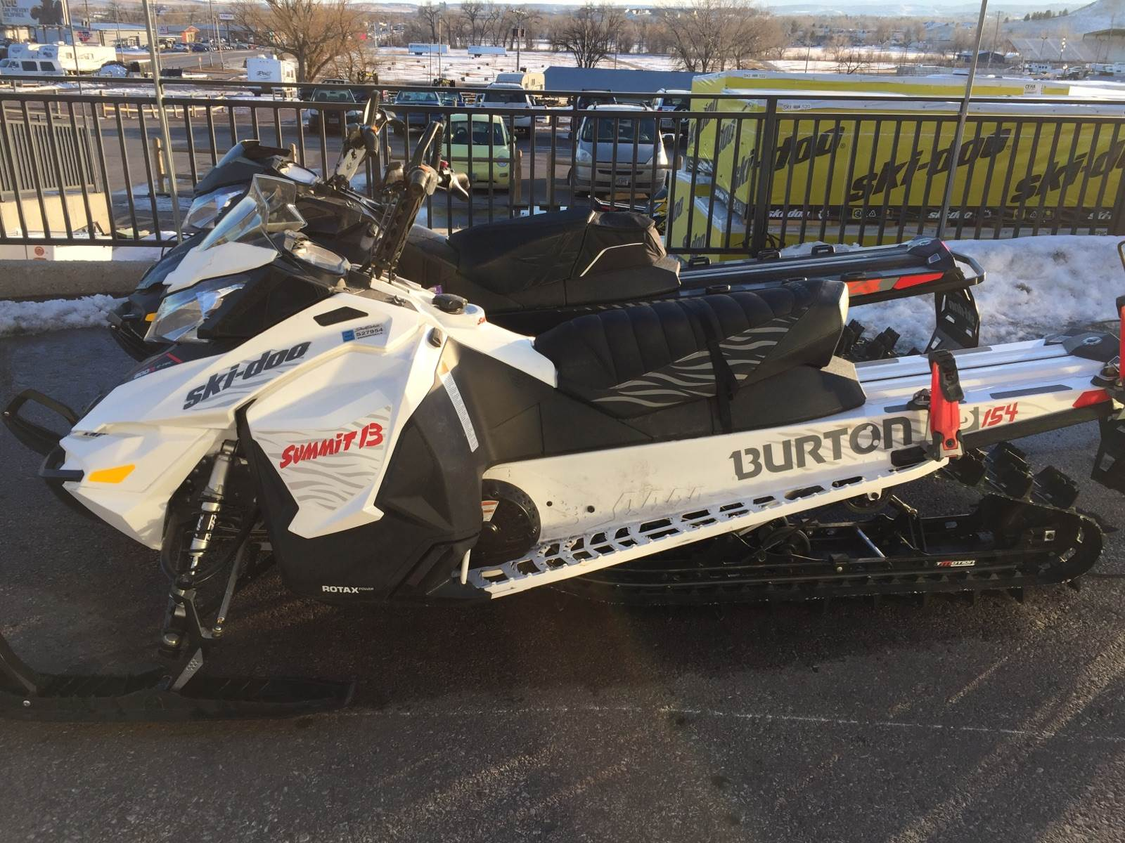 "2016 Ski-Doo Summit Burton 154 800R E-TEC E.S., PowderMax 2.5"" in Rapid City, South Dakota"