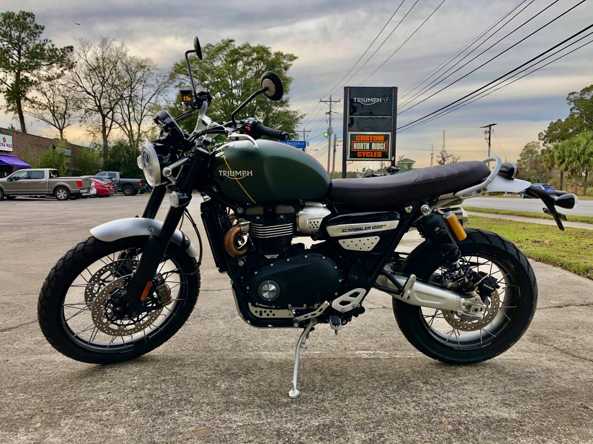 2020 Triumph Scrambler 1200 XC in Charleston, South Carolina - Photo 5