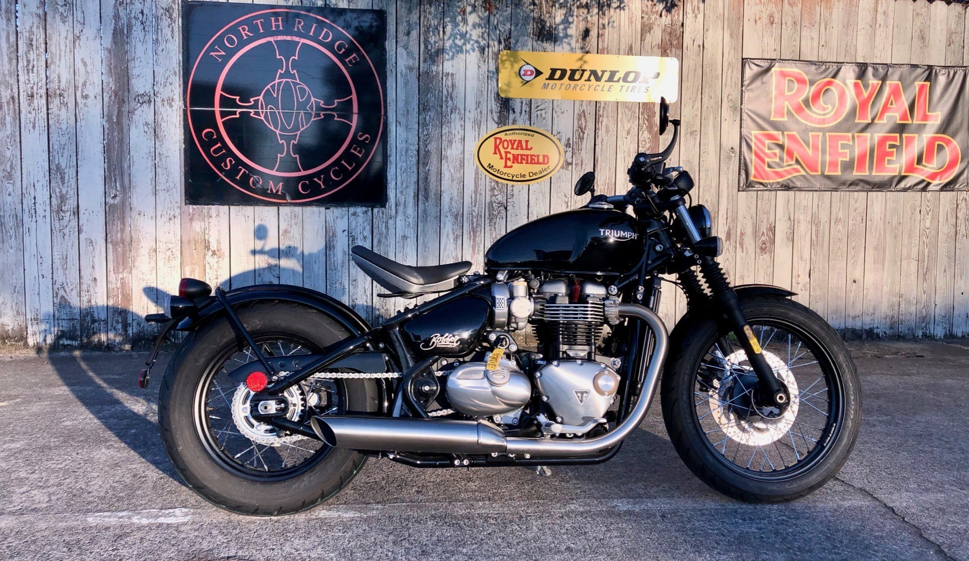 2018 Triumph Bonneville Bobber in Charleston, South Carolina - Photo 2