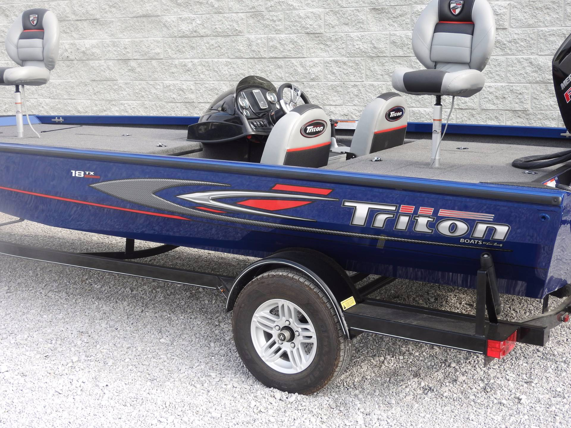 2017 Triton 18 TX in Harriman, Tennessee