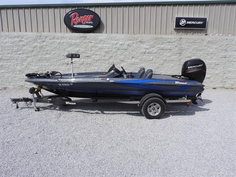 2017 Triton 189 TRX in Harriman, Tennessee