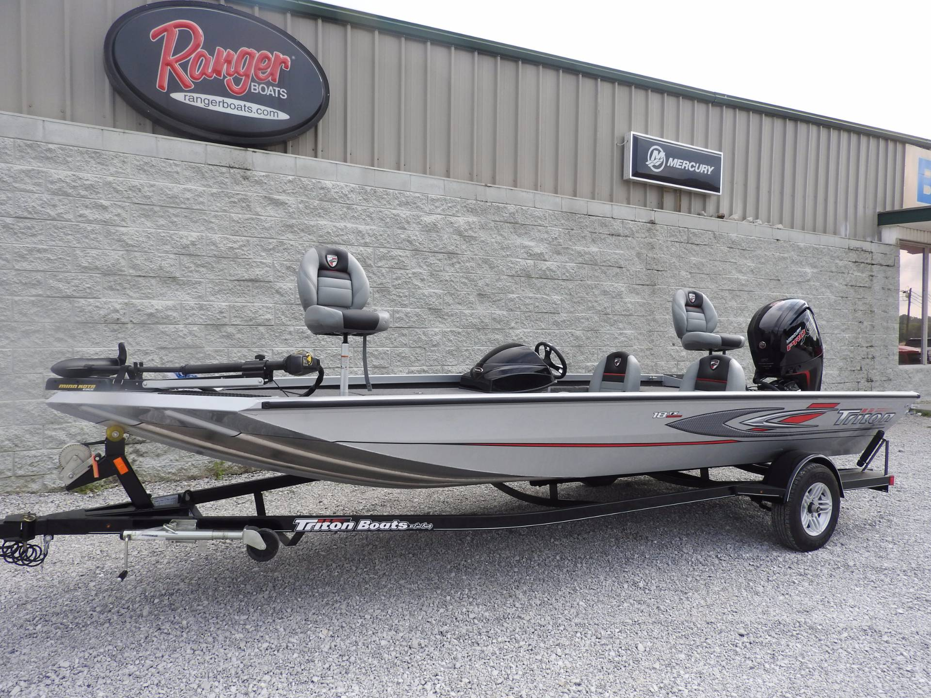2017 Triton 18TX in Harriman, Tennessee