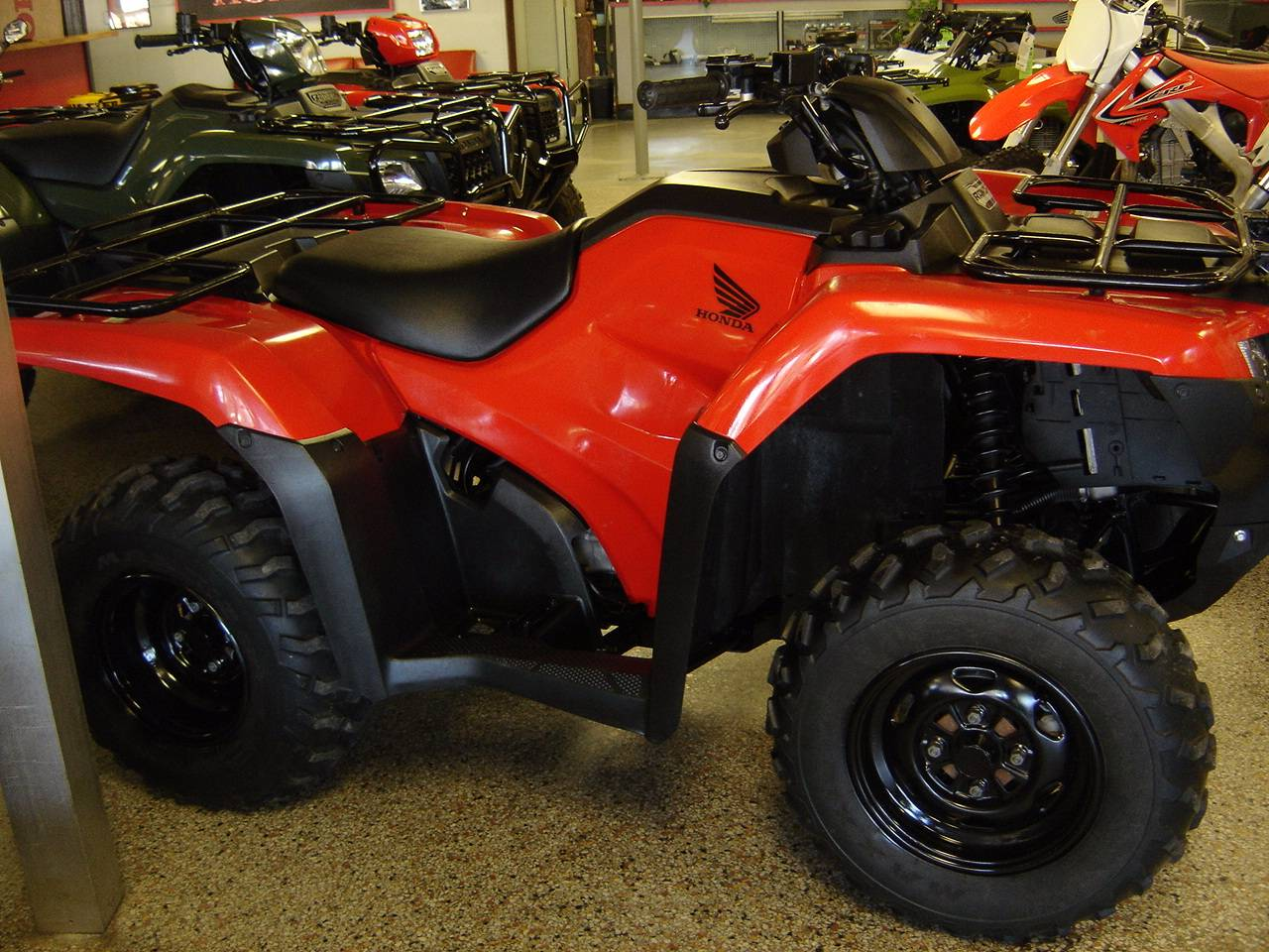 2017 Honda FourTrax Rancher in Elizabeth City, North Carolina