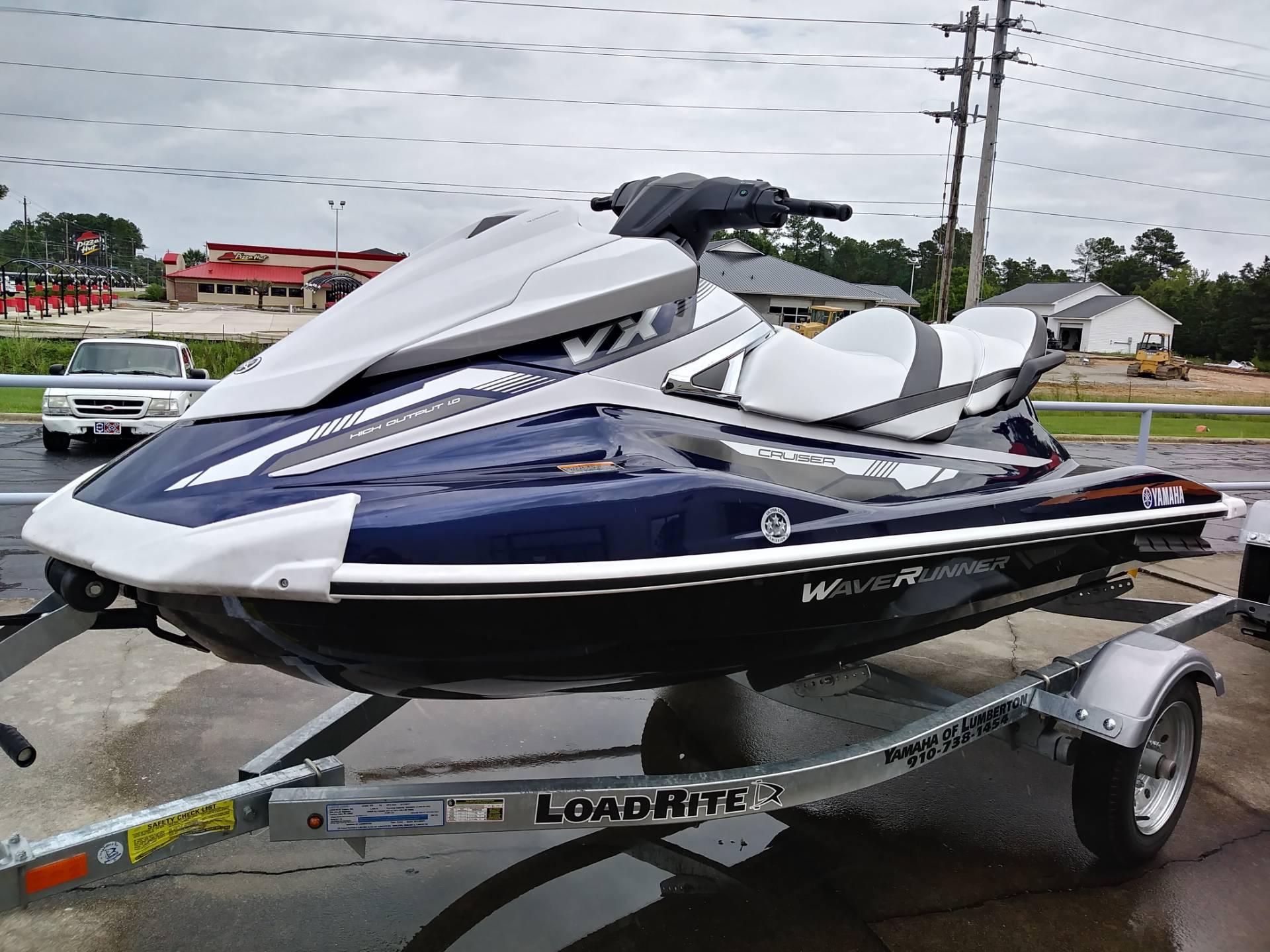 New 2018 Yamaha VX Cruiser Watercraft in Lumberton NC