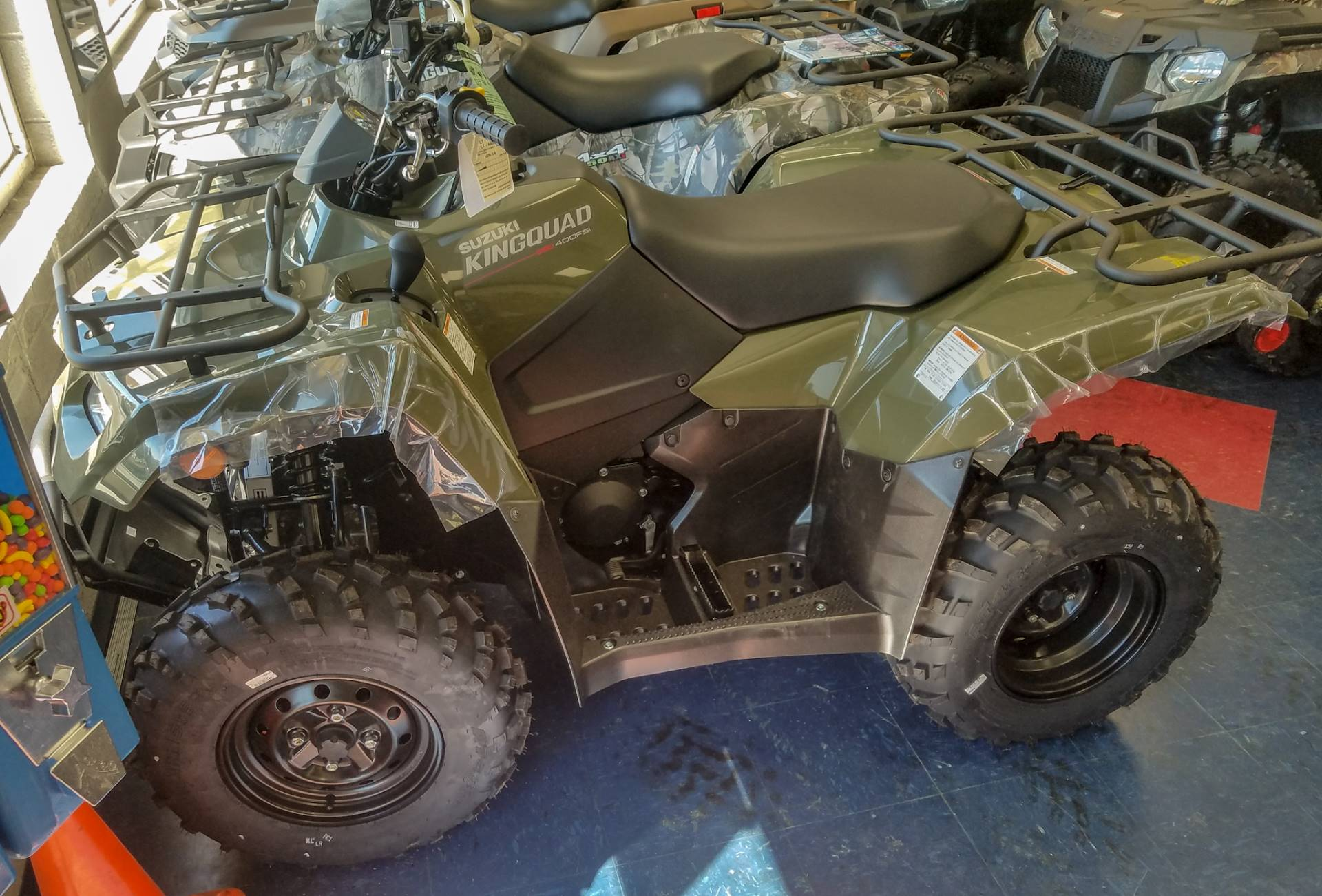 2019 Suzuki KingQuad 400FSi in Florence, South Carolina - Photo 1