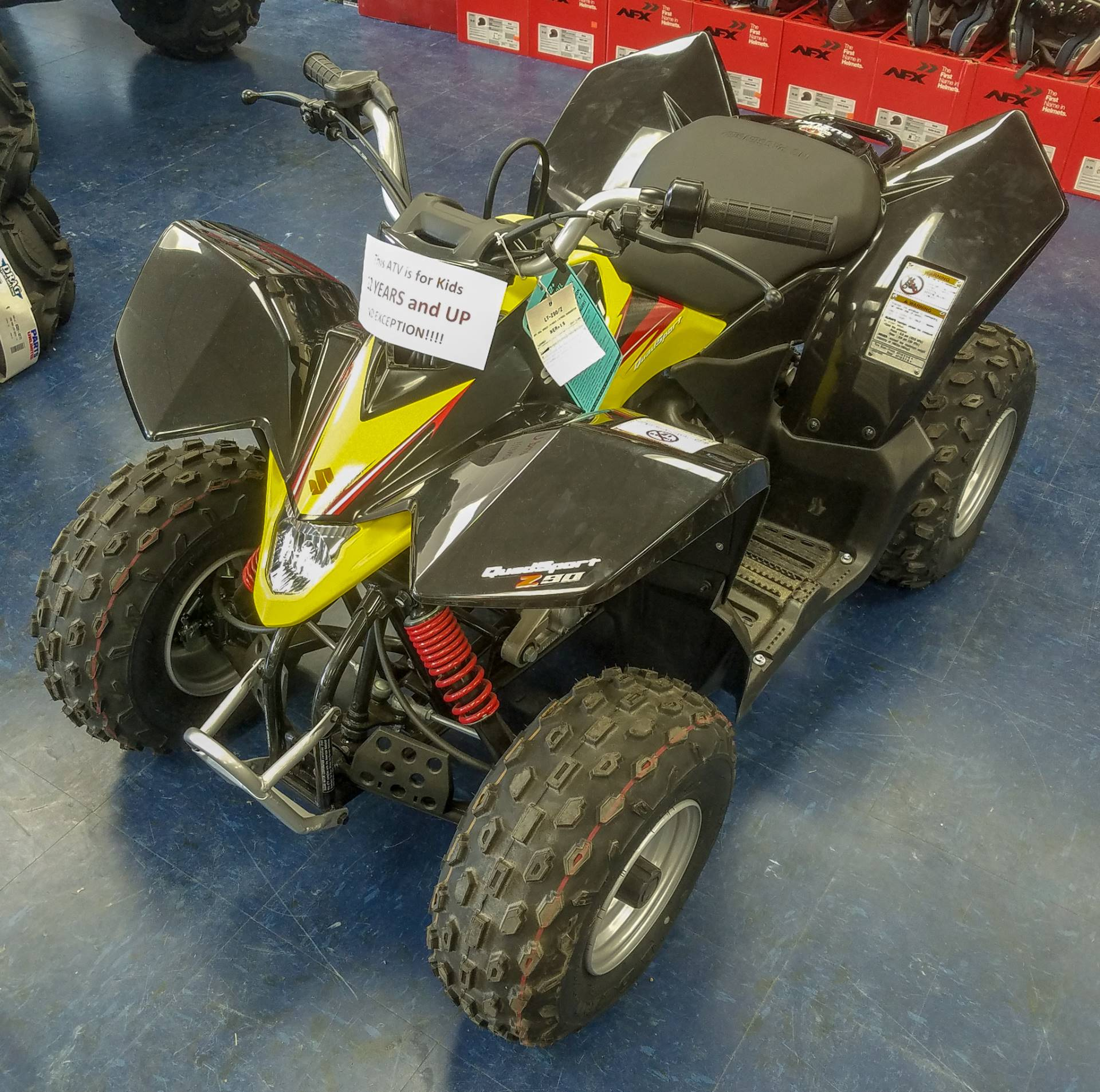2018 Suzuki QuadSport Z90 in Florence, South Carolina - Photo 1
