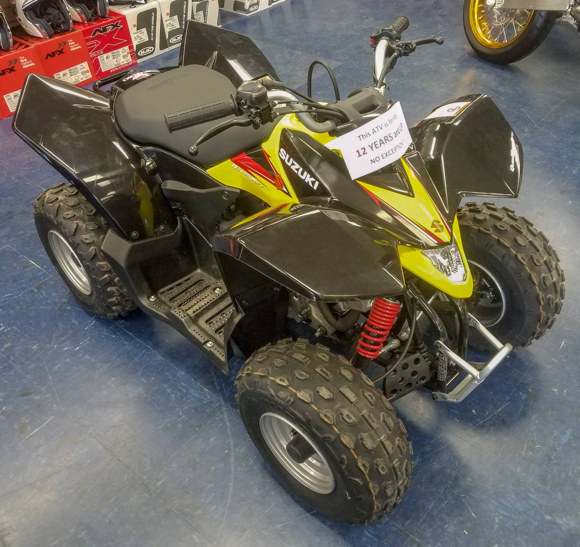 2018 Suzuki QuadSport Z90 in Florence, South Carolina - Photo 2