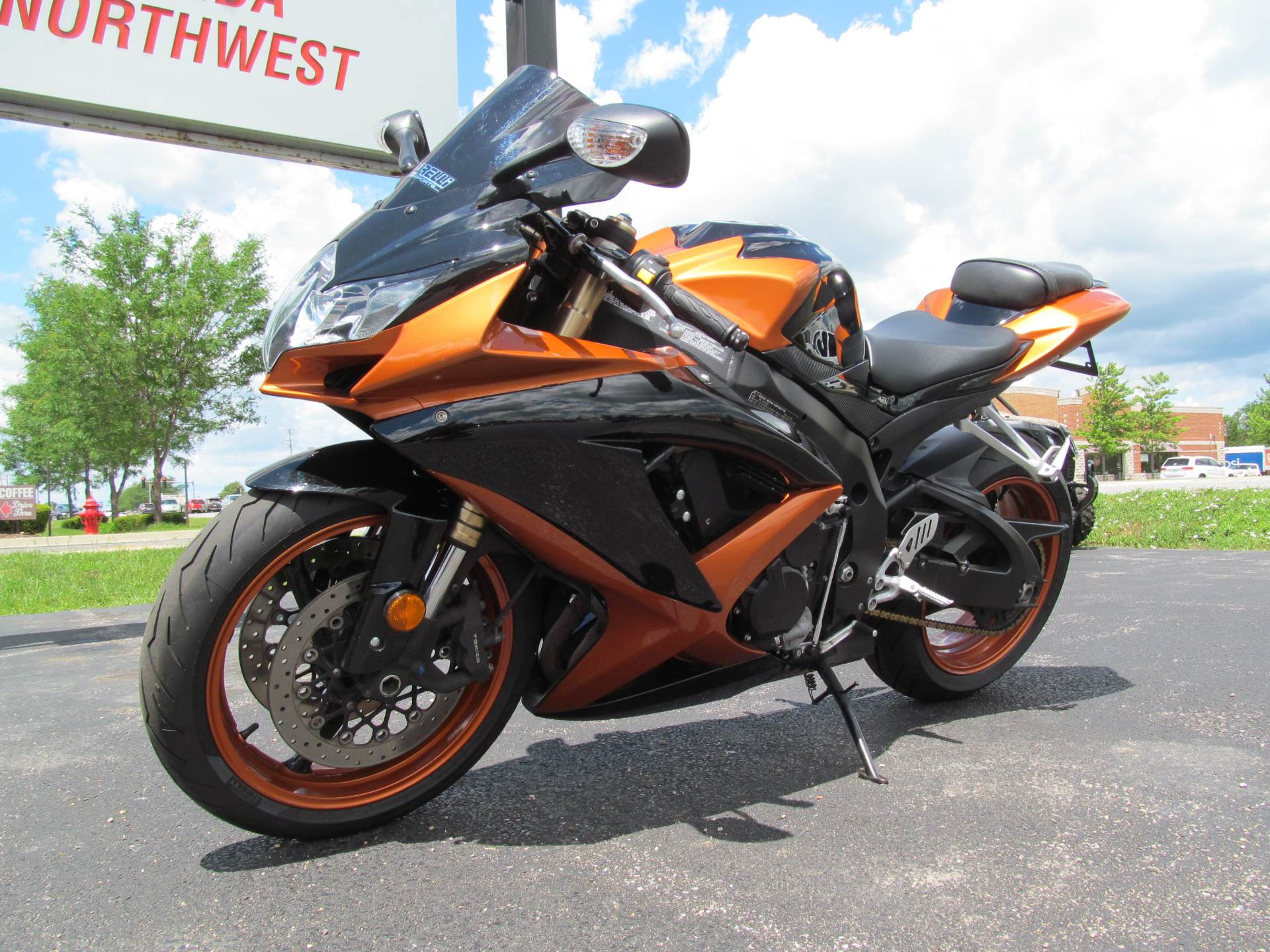 2008 Suzuki GSX-R600™ in Crystal Lake, Illinois