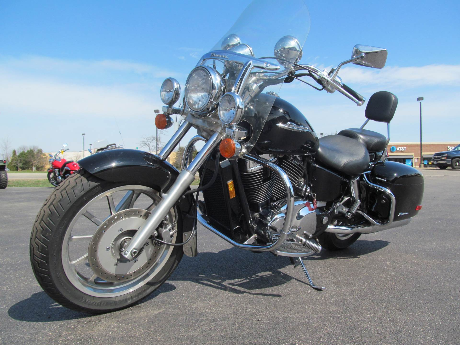 2001 Honda Shadow Ace Tourer in Crystal Lake, Illinois - Photo 4