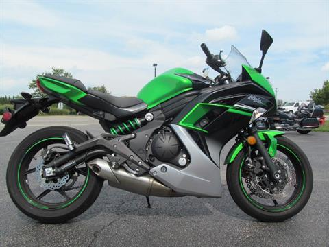 2016 Kawasaki Ninja 650 ABS in Crystal Lake, Illinois