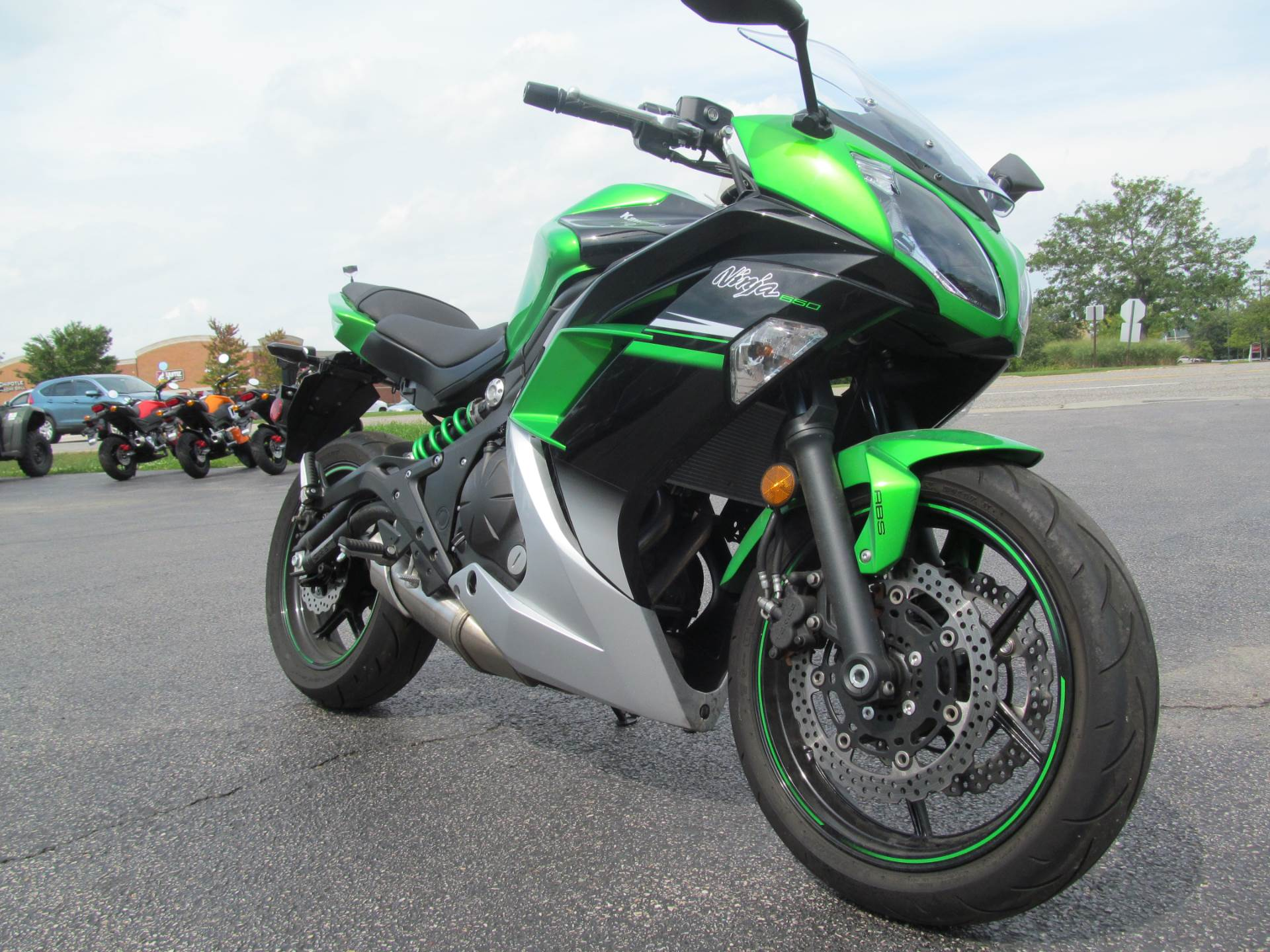 2016 Kawasaki Ninja 650 ABS in Crystal Lake, Illinois - Photo 3