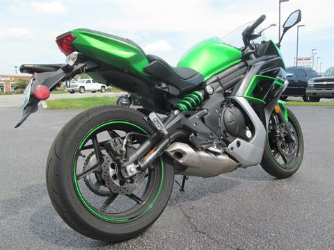2016 Kawasaki Ninja 650 ABS in Crystal Lake, Illinois - Photo 5