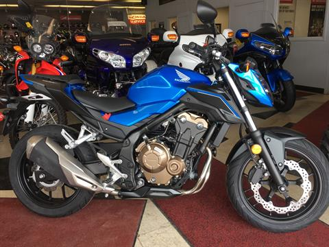 2018 Honda CB500F in Crystal Lake, Illinois