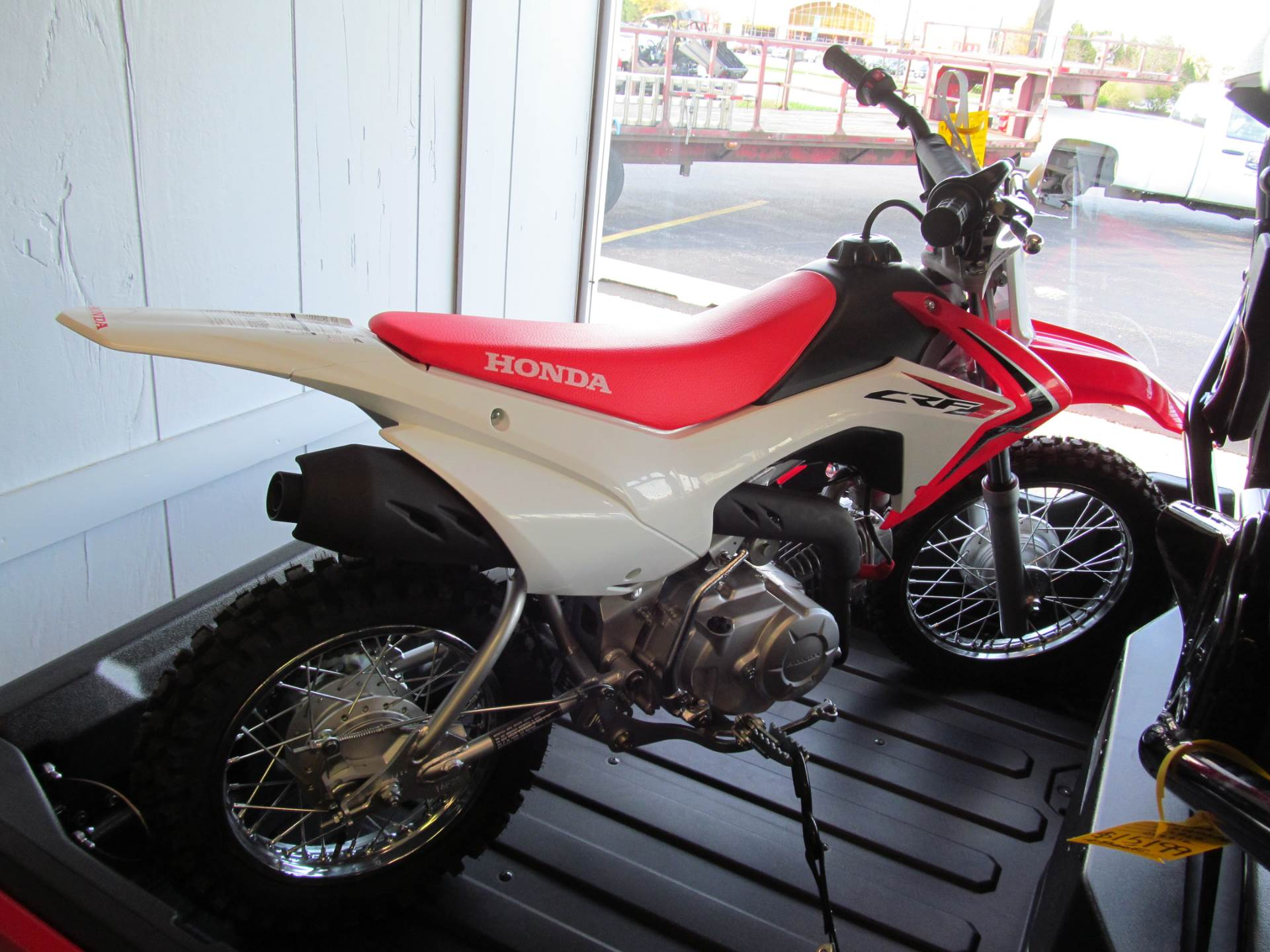 2017 Honda CRF110F in Crystal Lake, Illinois