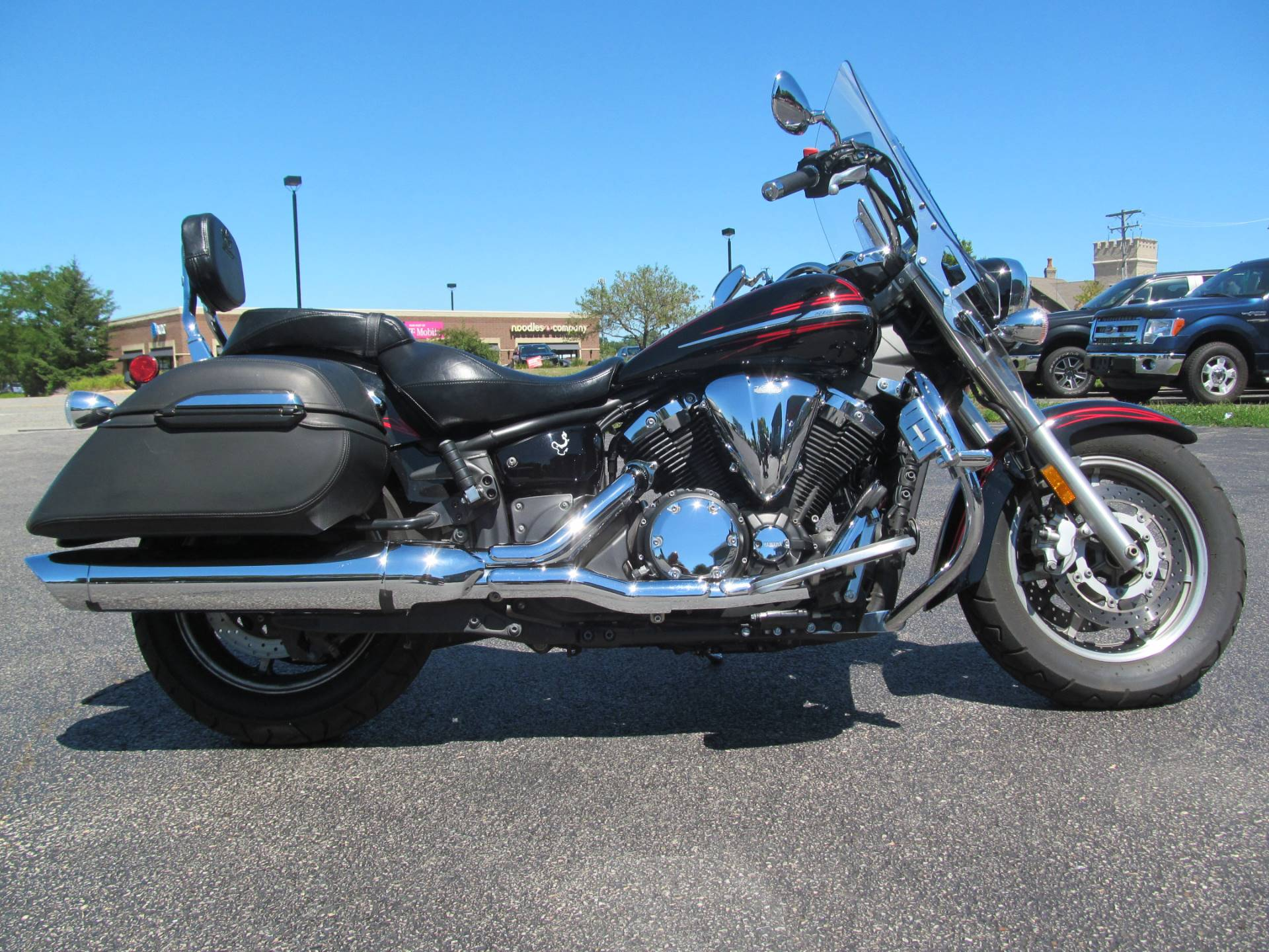2009 Yamaha V Star 1300 Tourer in Crystal Lake, Illinois - Photo 1