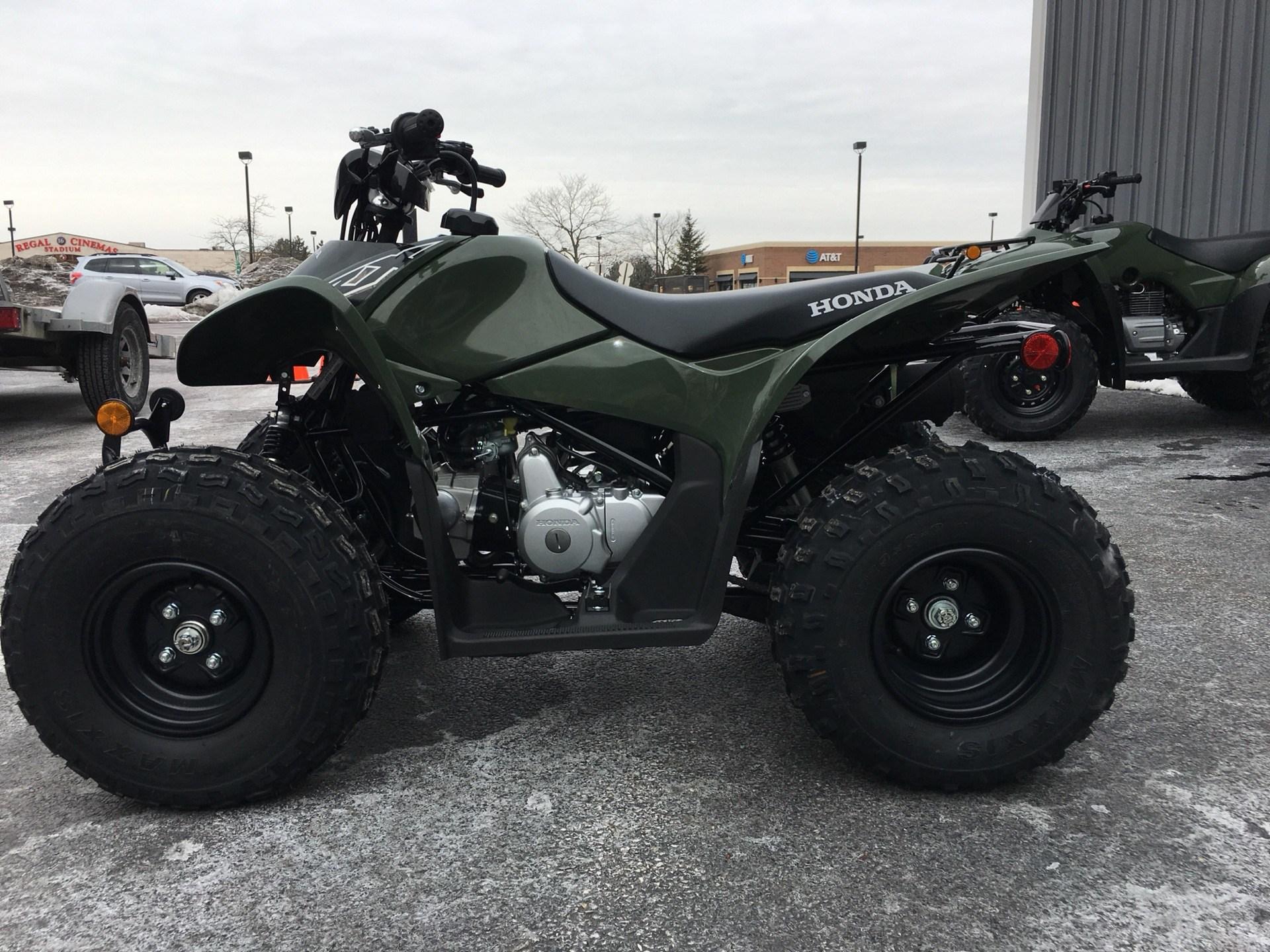 2019 Honda TRX90X 2
