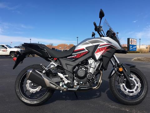2018 Honda CB500X ABS in Crystal Lake, Illinois